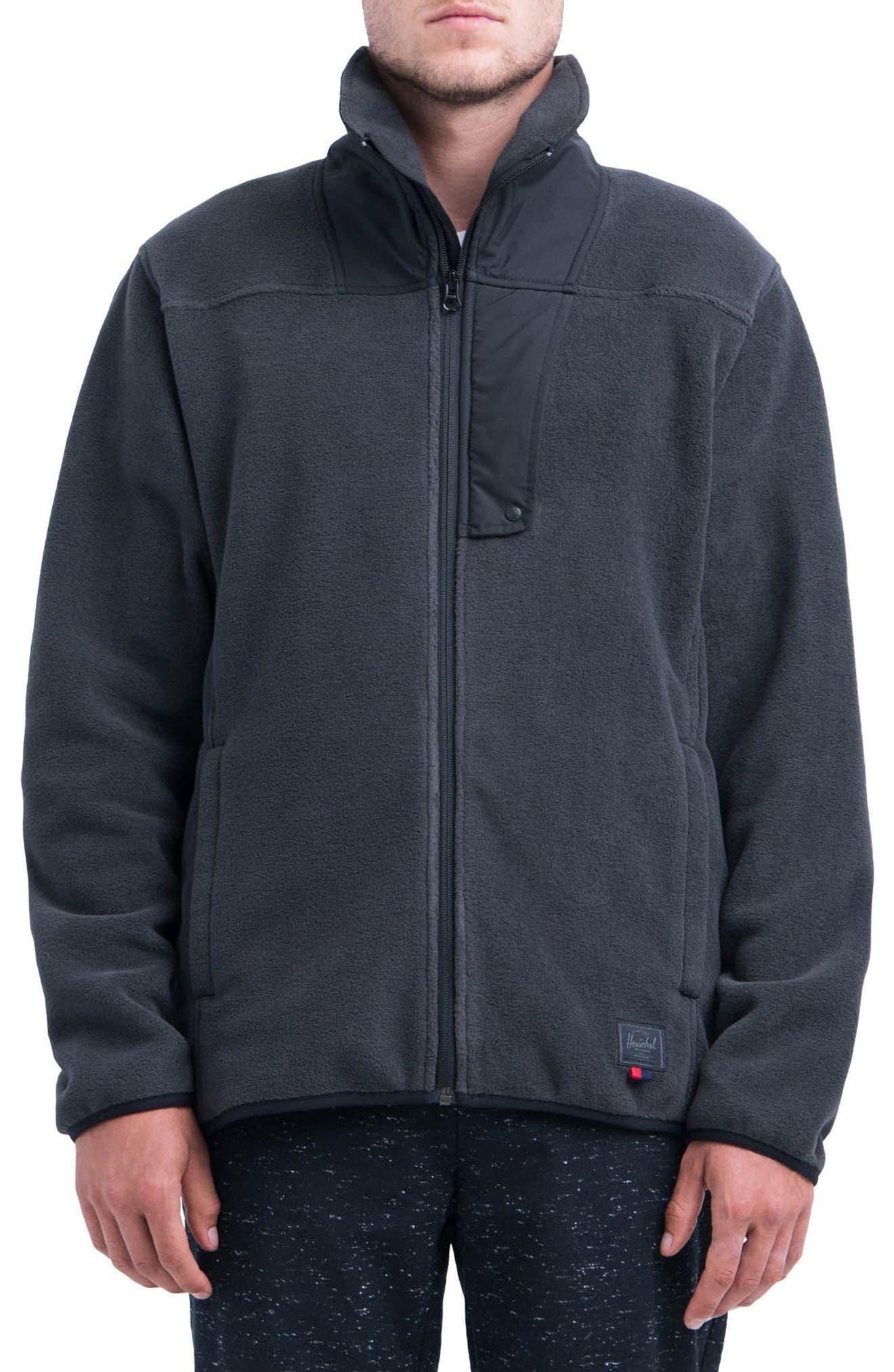 Fleece Zip-Up,                         Main,                         color, 002