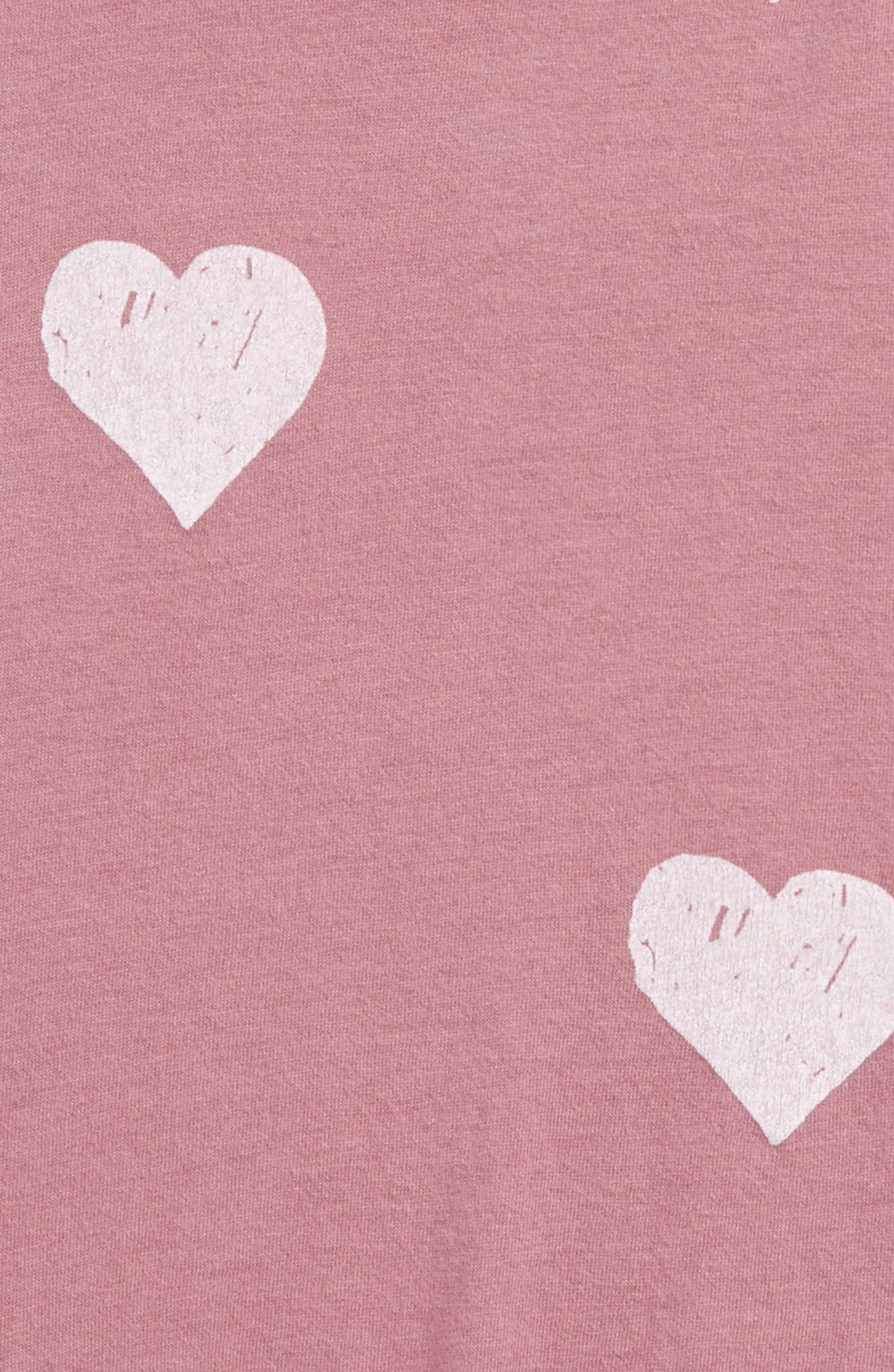 Heart Print Muscle Tank,                             Alternate thumbnail 4, color,