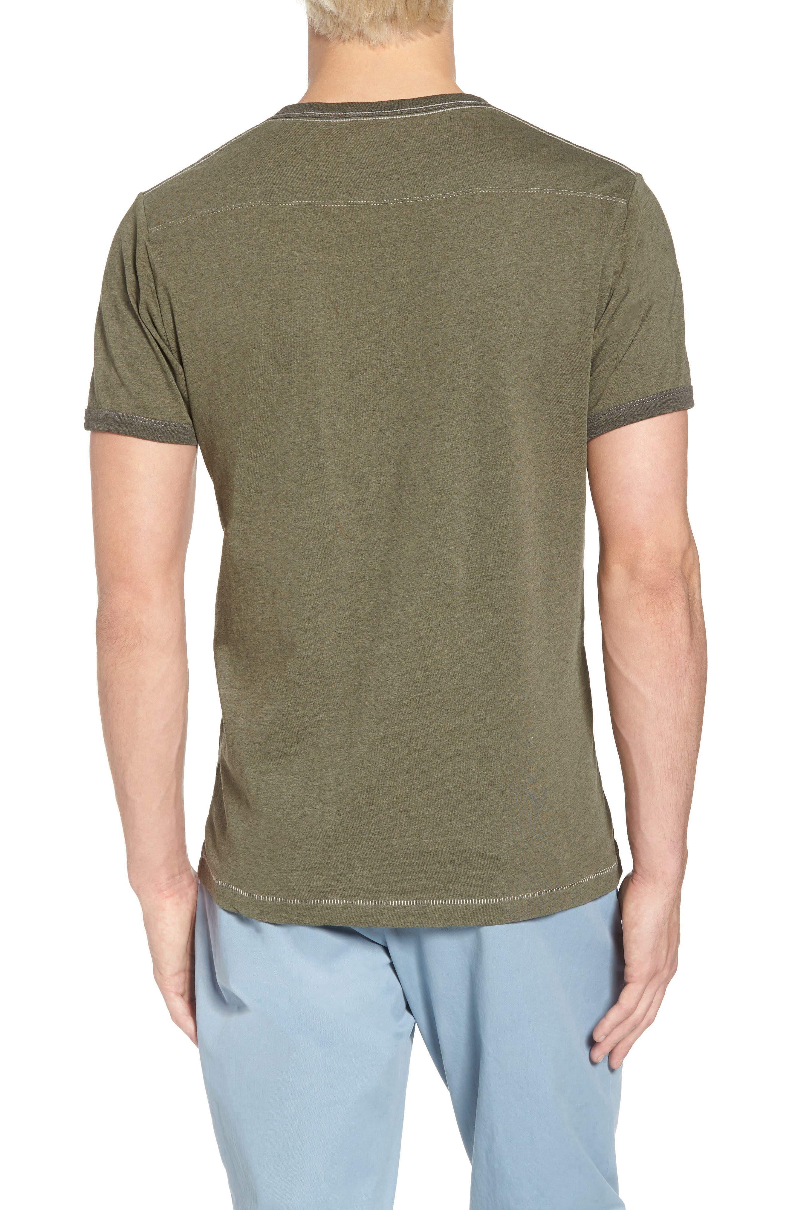 Bens Slim Fit Ringer T-Shirt,                             Alternate thumbnail 5, color,