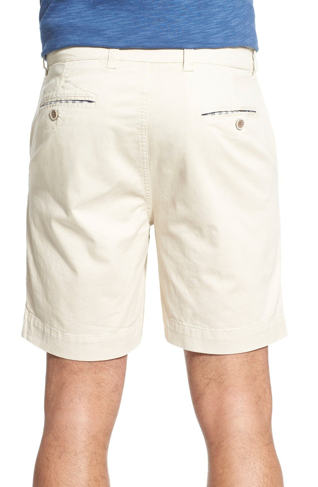 'Sunny' Stretch Twill Chino Shorts,                             Alternate thumbnail 6, color,