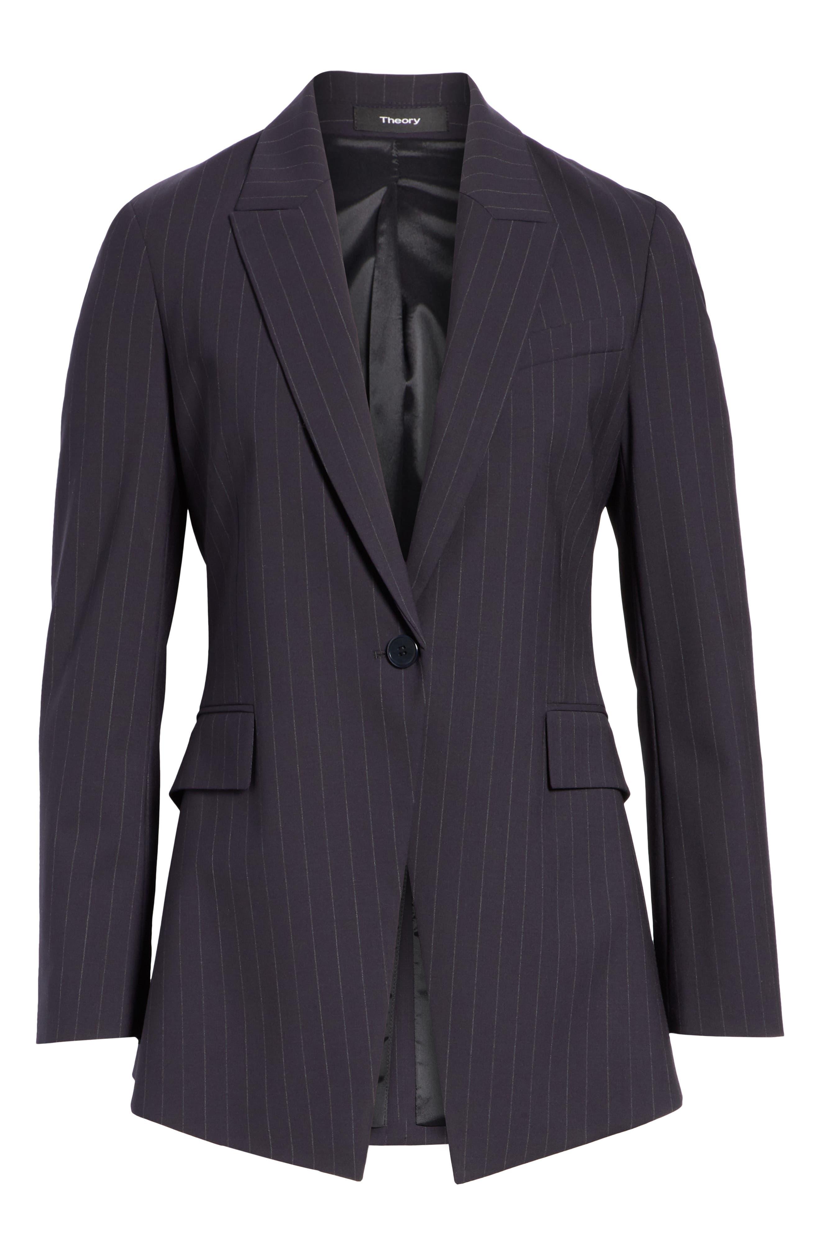 Etienette B Good Wool Suit Jacket,                             Alternate thumbnail 35, color,