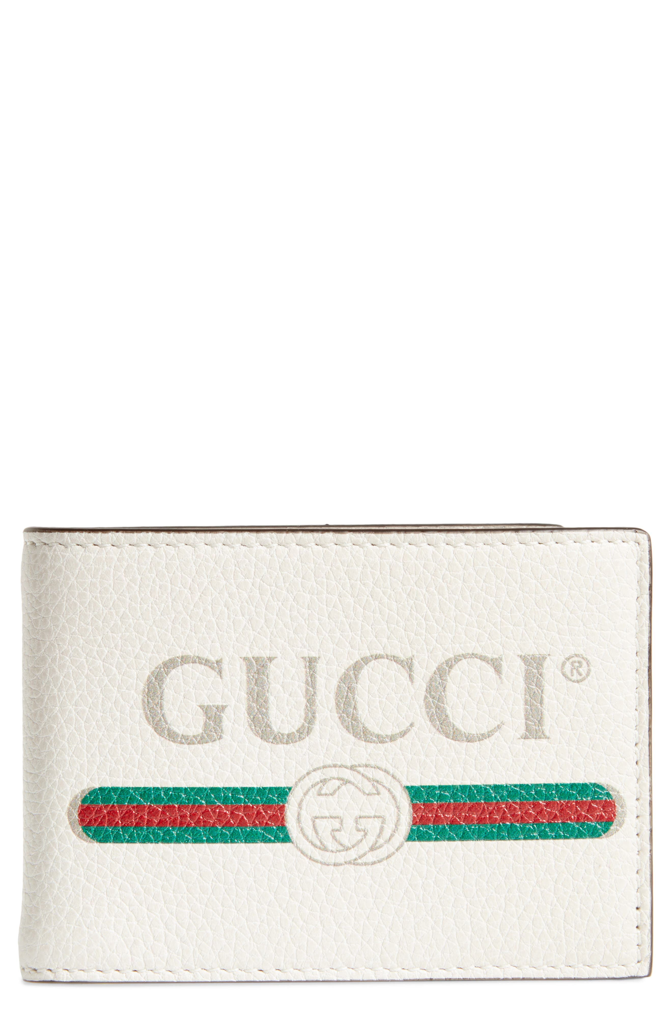 Wallet,                             Main thumbnail 1, color,                             WHITE