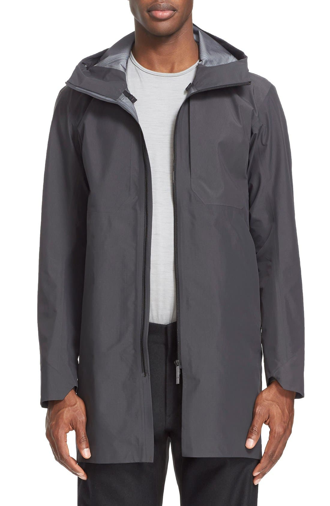 'Monitor' Gore-Tex<sup>®</sup> Pro Packable Hooded Jacket, Main, color, 020
