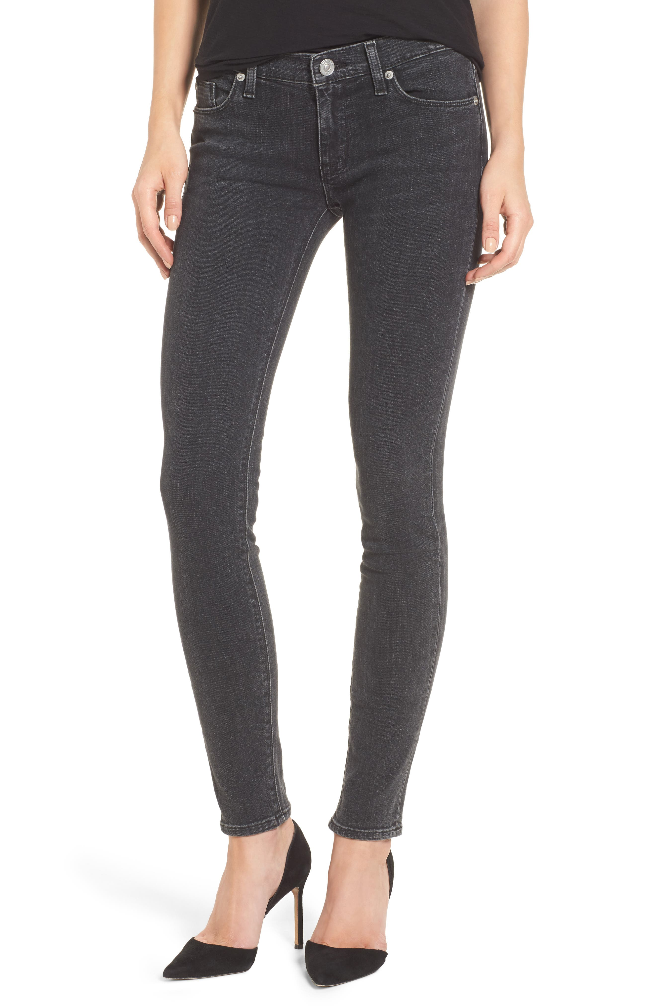Krista Super Skinny Jeans,                             Main thumbnail 1, color,                             001