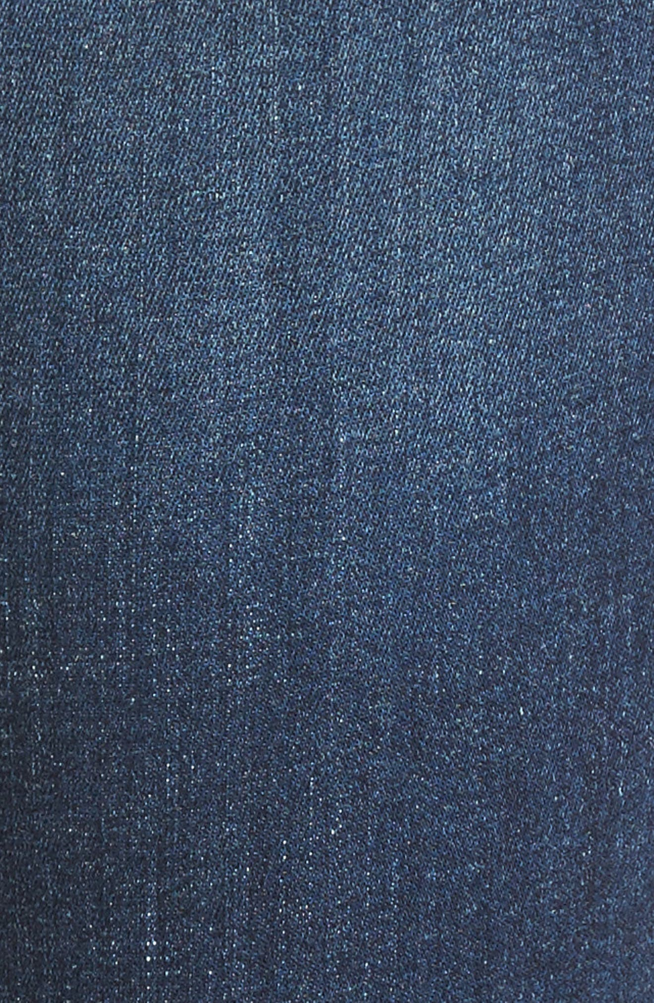Florence Instasculpt Crop Skinny Jeans,                             Alternate thumbnail 6, color,                             405