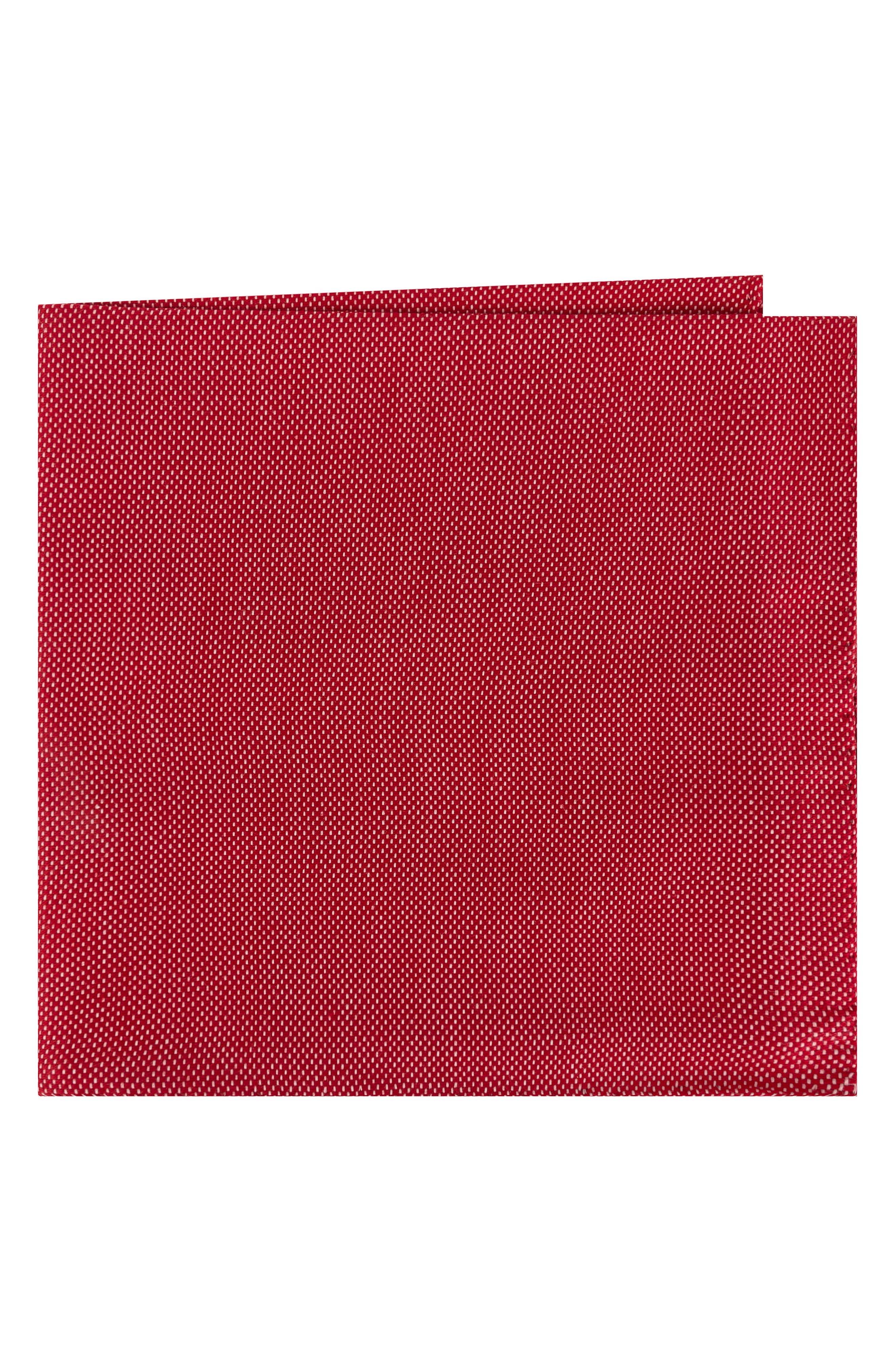 Solid Cotton Pocket Square,                             Main thumbnail 4, color,