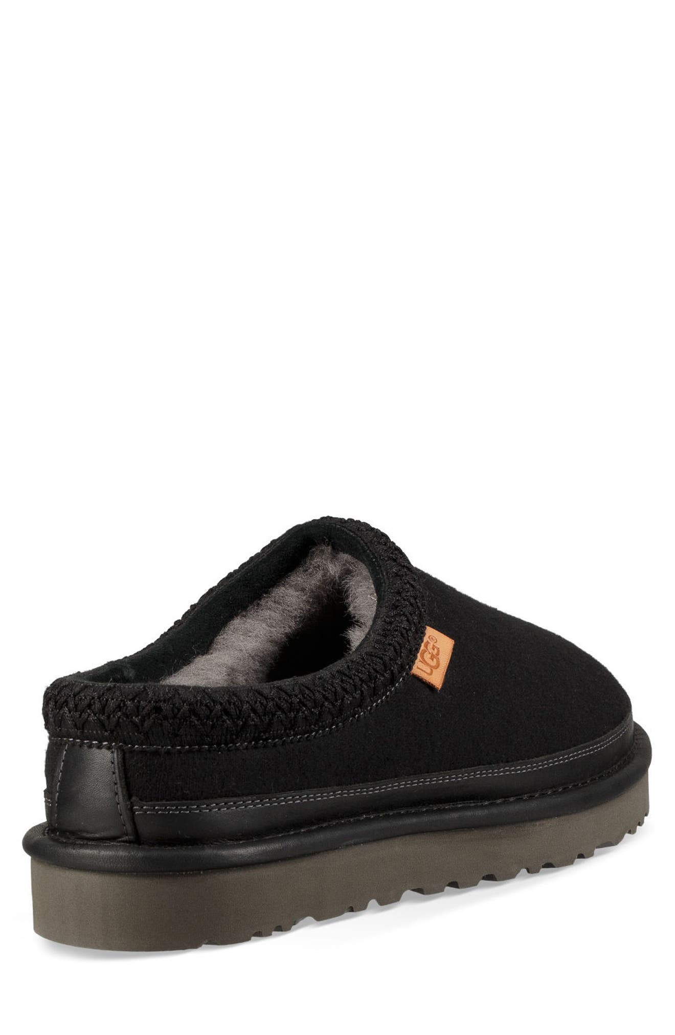'Tasman' Slipper,                             Alternate thumbnail 2, color,                             BLACK/ BLACK