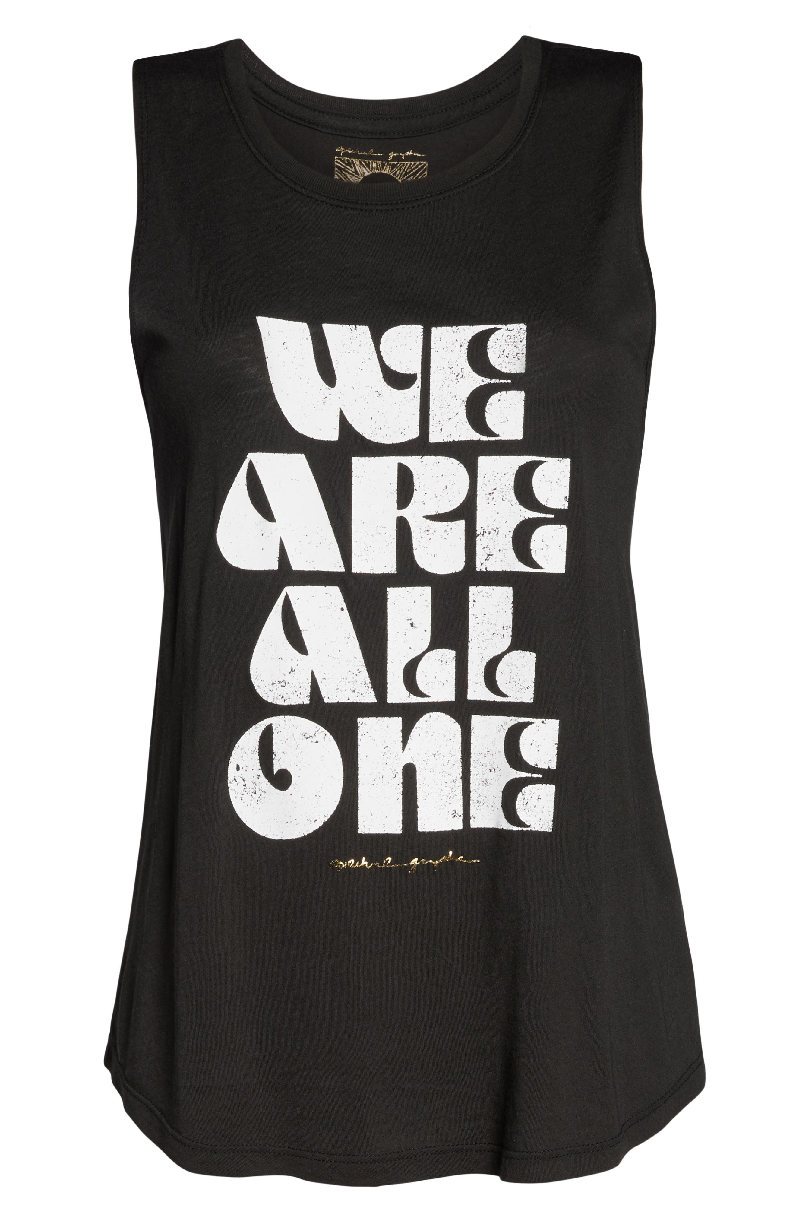 All One Muscle Tank,                             Alternate thumbnail 7, color,                             VINTAGE BLACK
