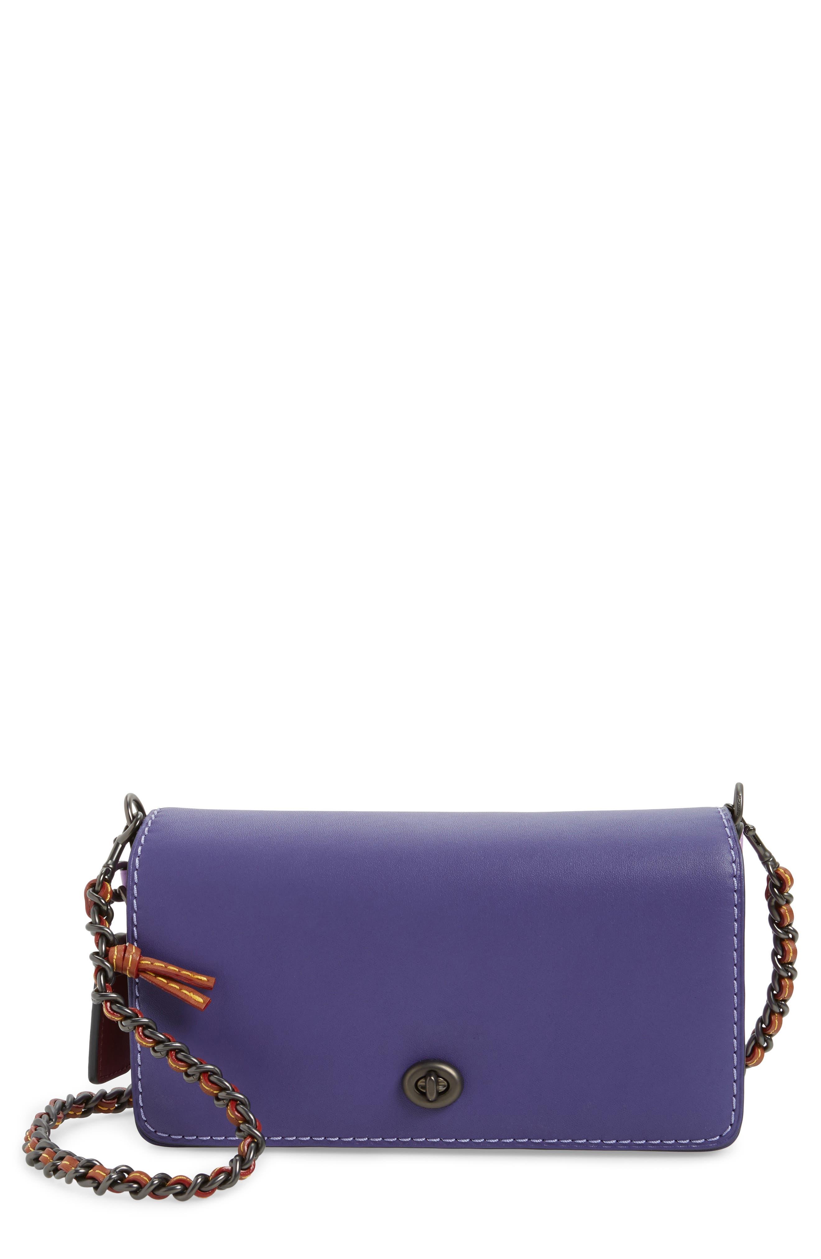 Dinky Leather Crossbody Bag,                             Main thumbnail 1, color,