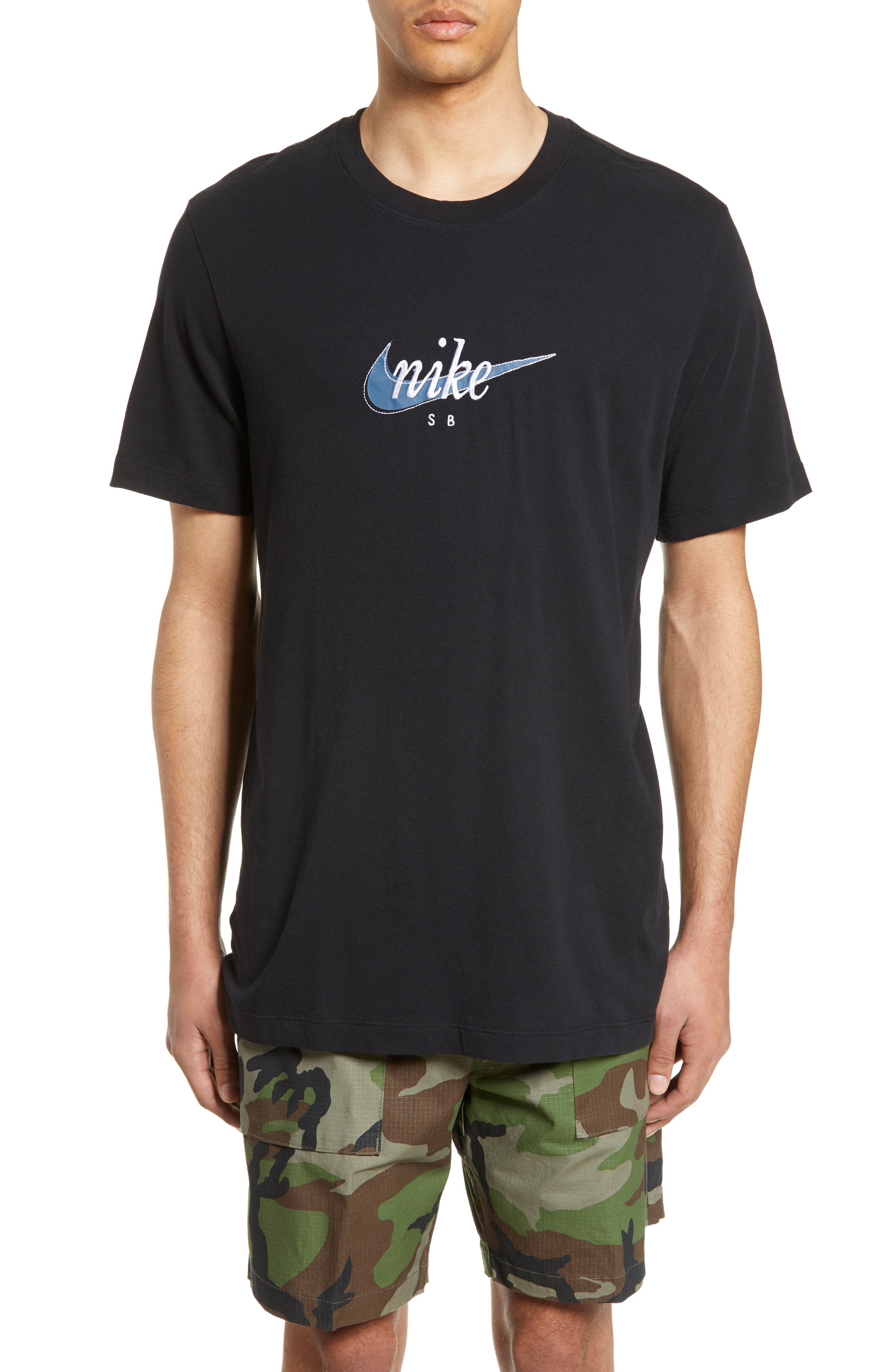 Embroidered Futura Logo T Shirt by Nike Sb