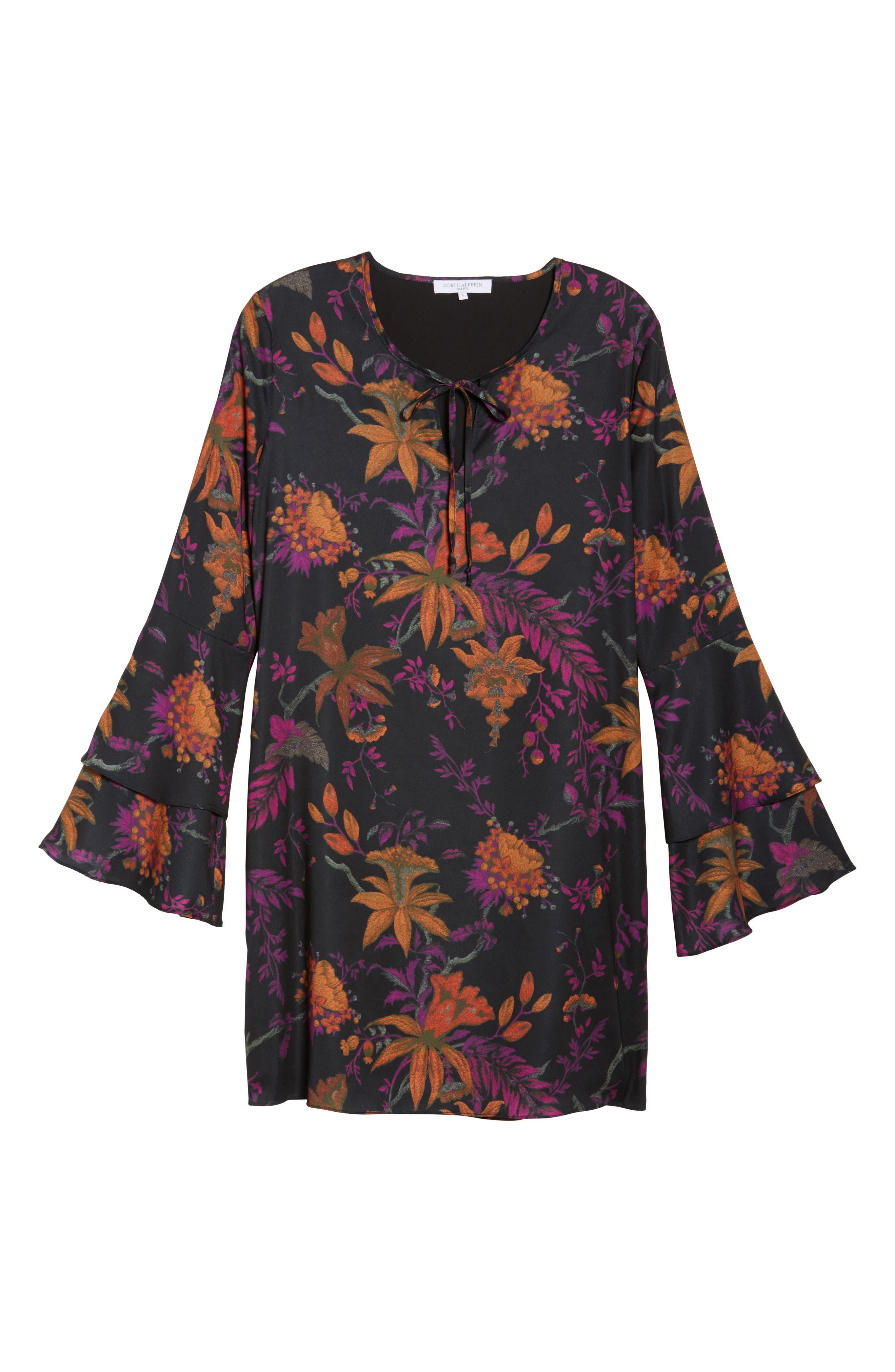 Primrose Bell Sleeve Dress,                             Alternate thumbnail 6, color,                             665