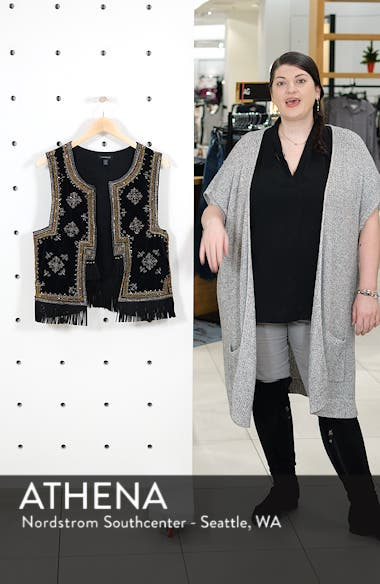 Embroidered Waistcoat Vest, sales video thumbnail