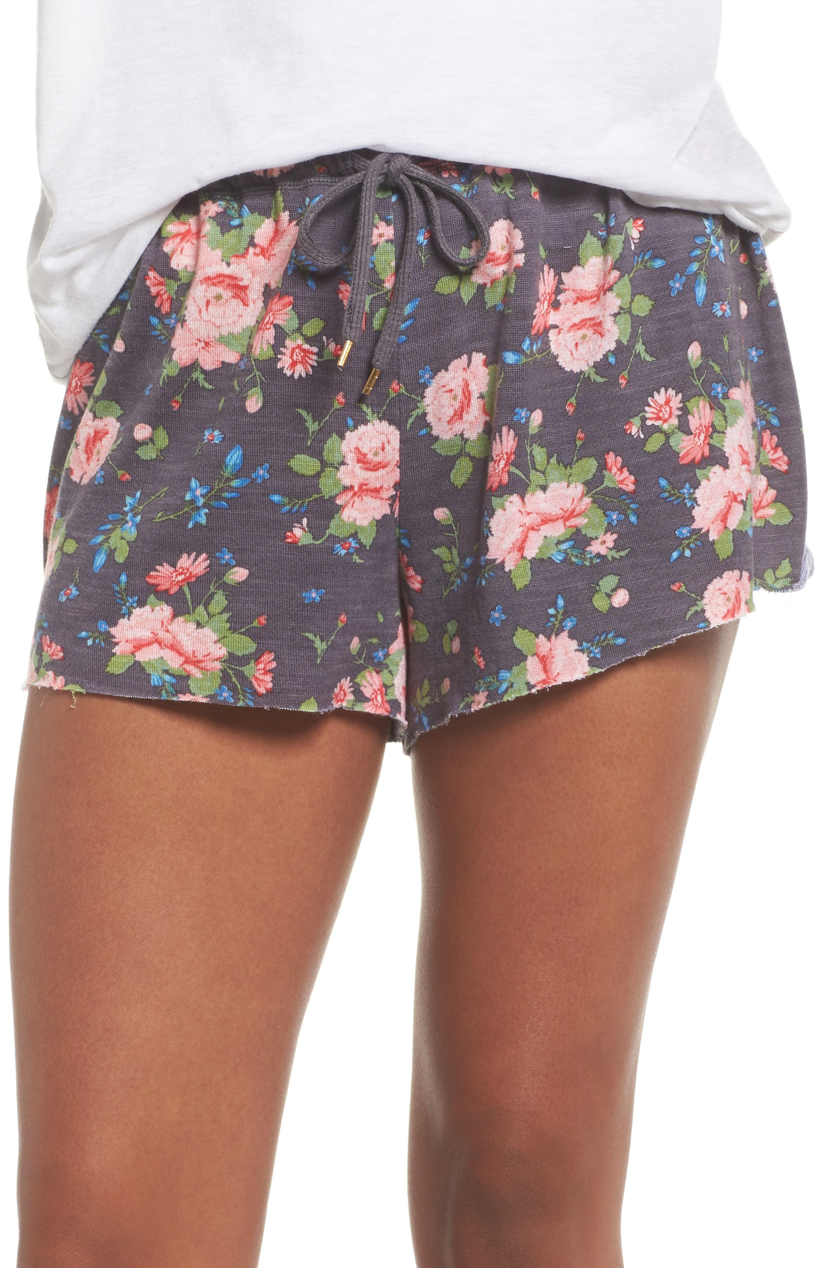 French Terry Lounge Shorts,                             Main thumbnail 2, color,