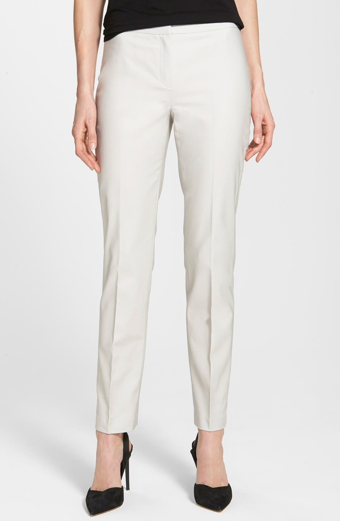 The Perfect Ankle Pants,                             Main thumbnail 1, color,                             POWDER