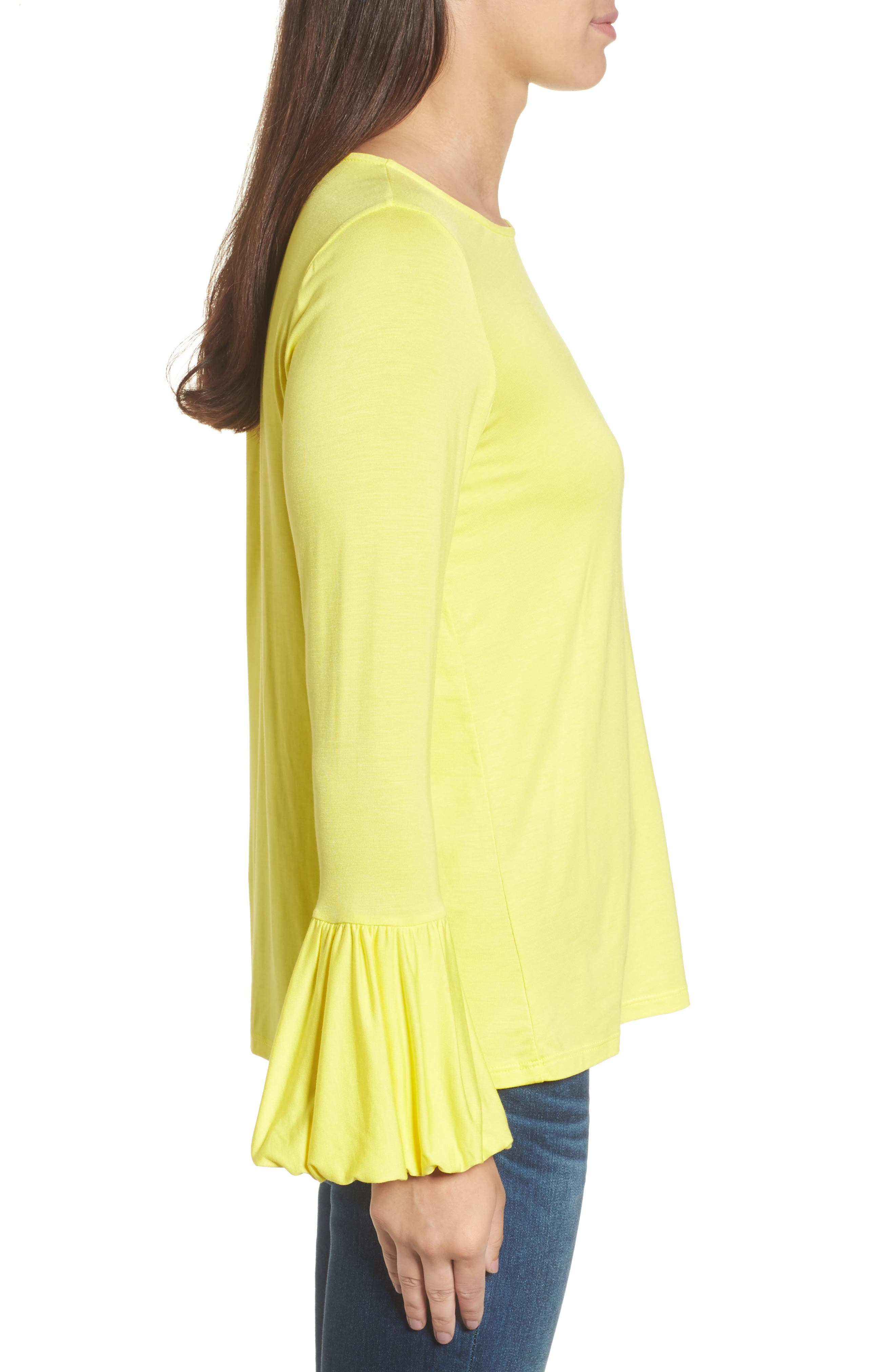 Bell Sleeve Top,                             Alternate thumbnail 14, color,