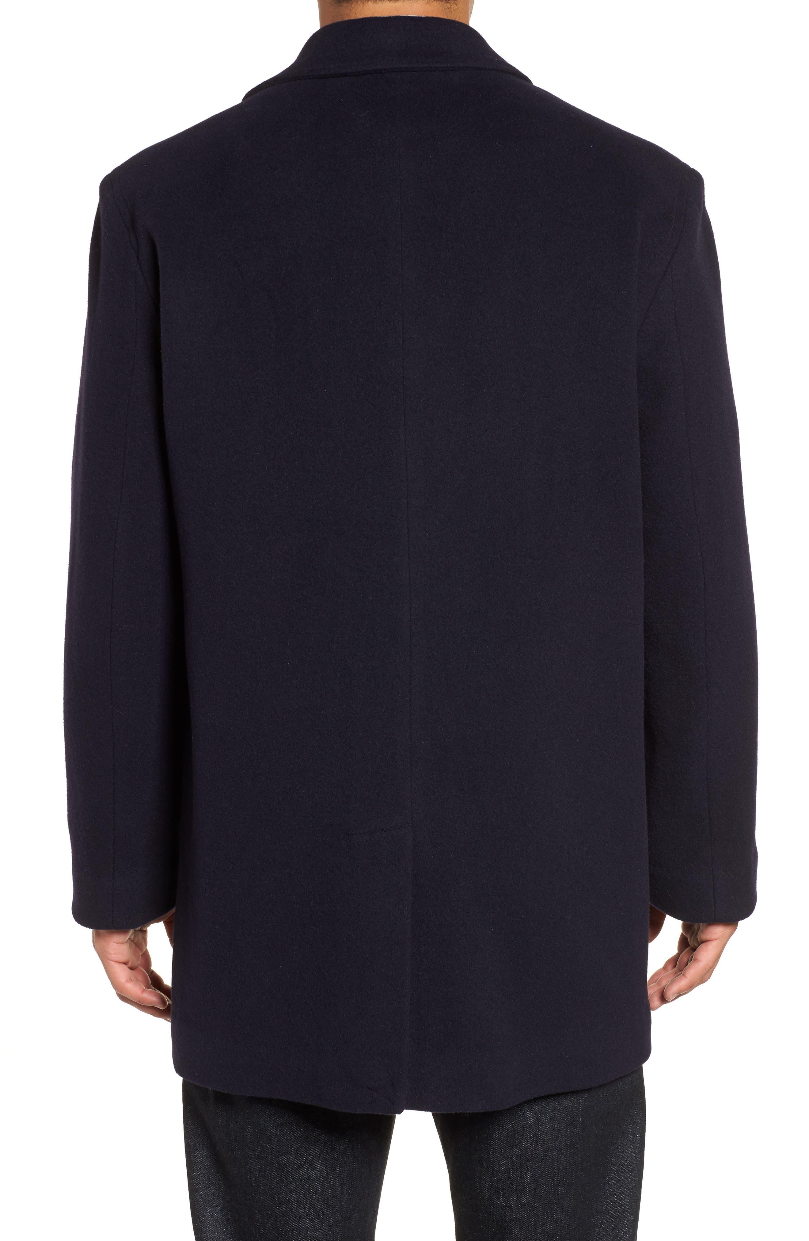 Italian Wool Blend Overcoat,                             Alternate thumbnail 7, color,