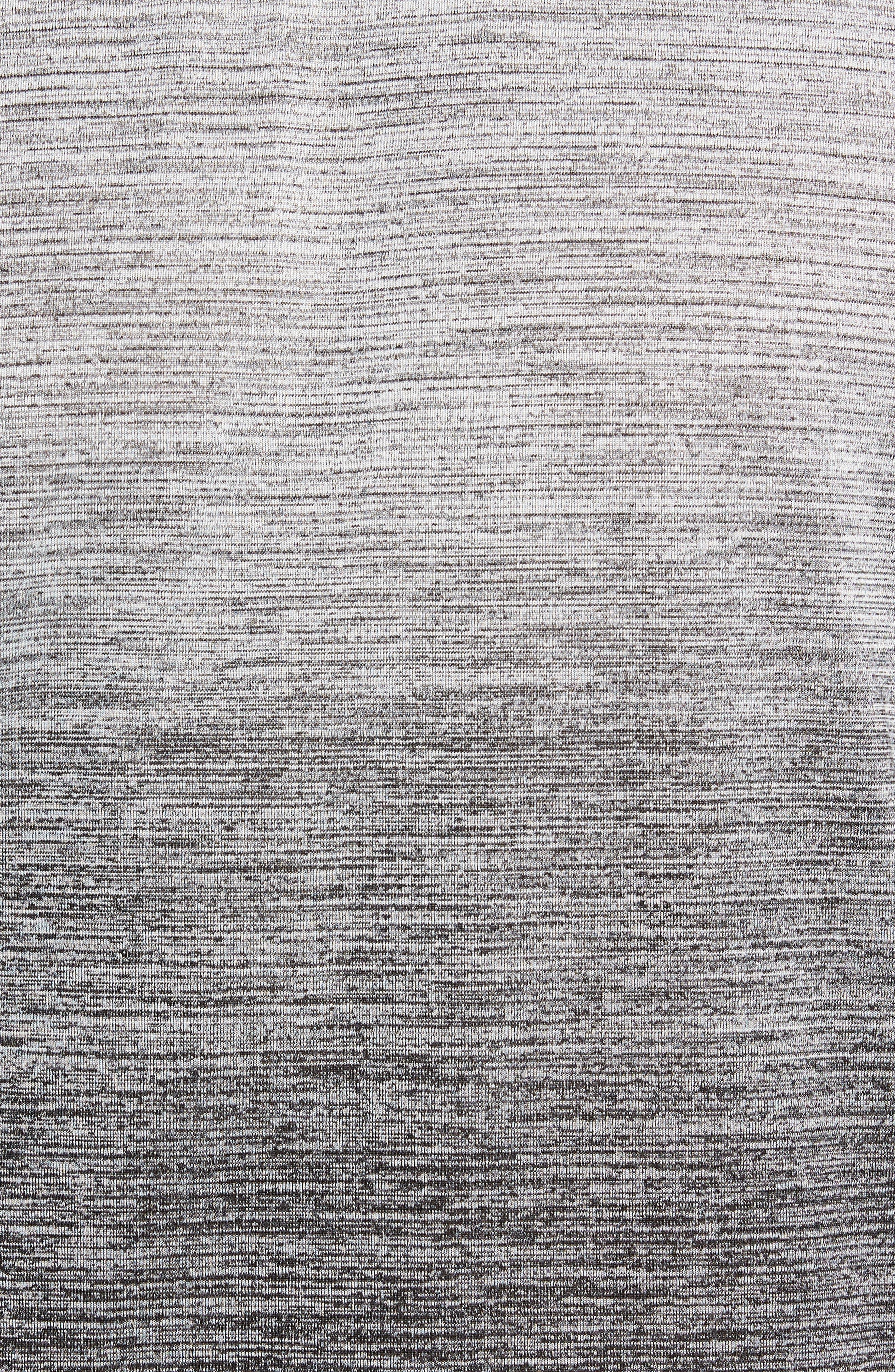Dry Max Training T-Shirt,                             Alternate thumbnail 5, color,                             BLACK/ WHITE/ HYPER COBALT