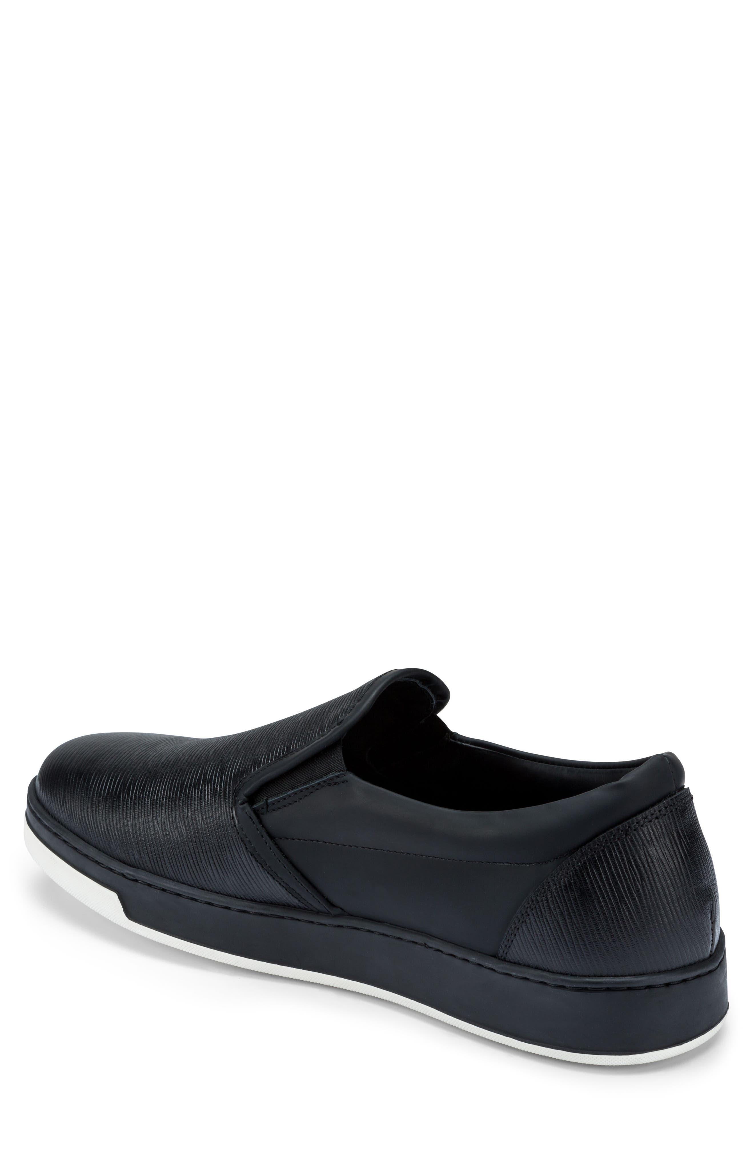Santorini Slip-On Sneaker,                             Alternate thumbnail 2, color,                             001