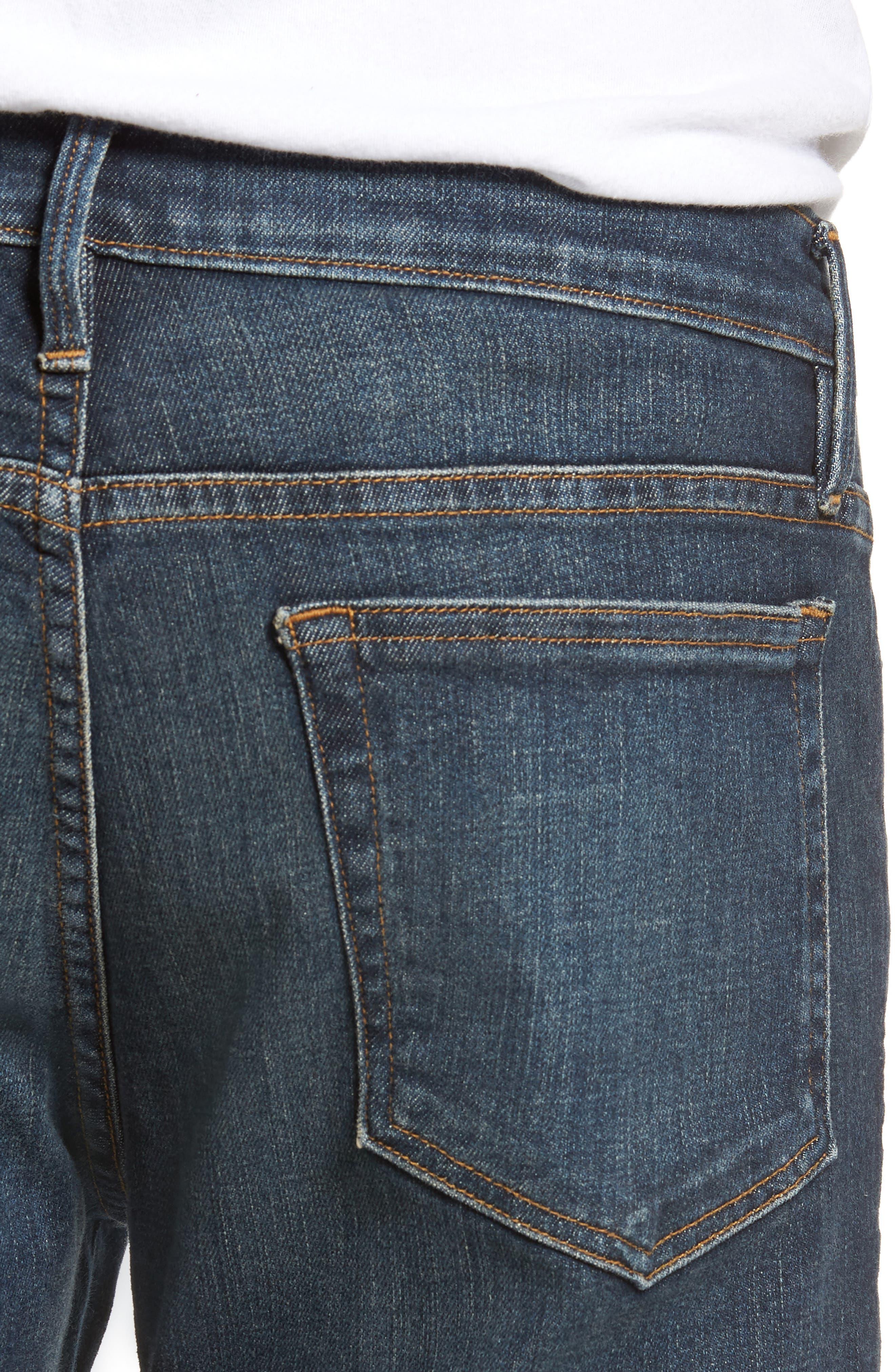 L'Homme Slim Fit Jeans,                             Alternate thumbnail 4, color,                             JOSHUA TREE
