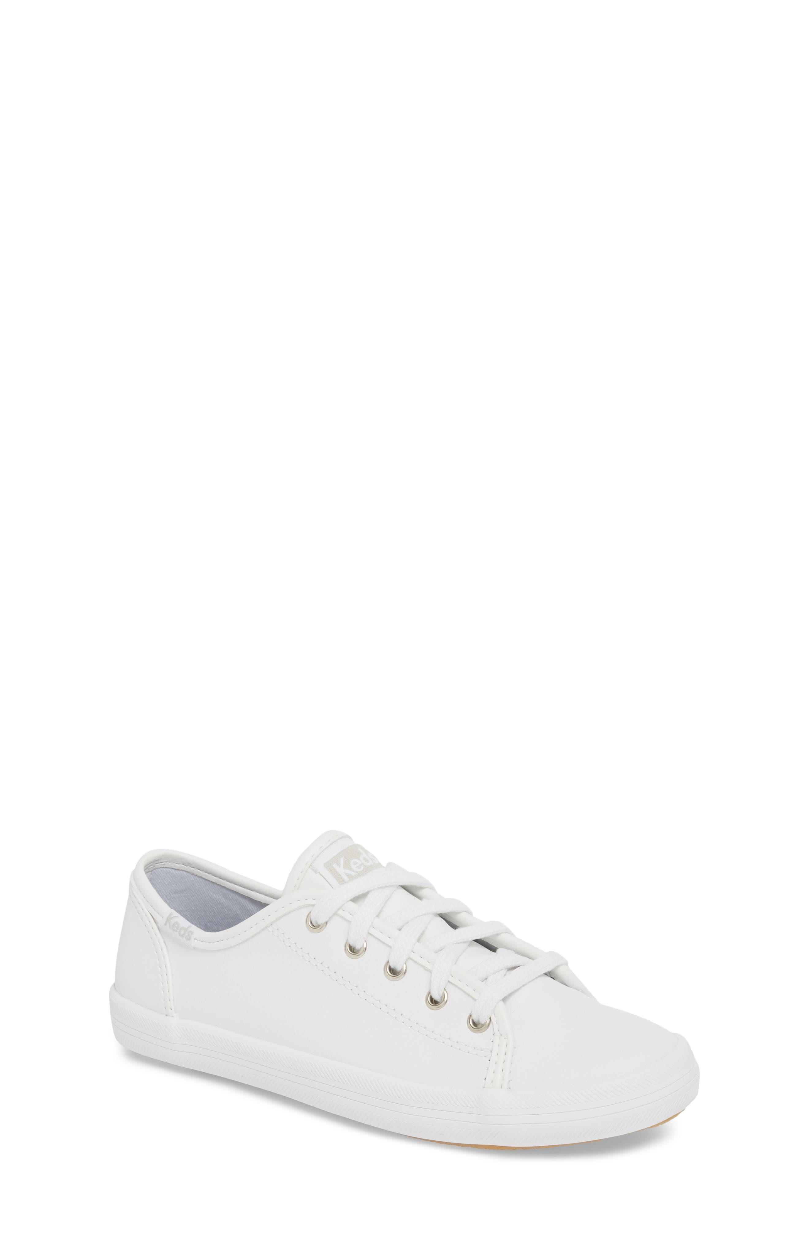 Kickstart Sneaker,                         Main,                         color, WHITE