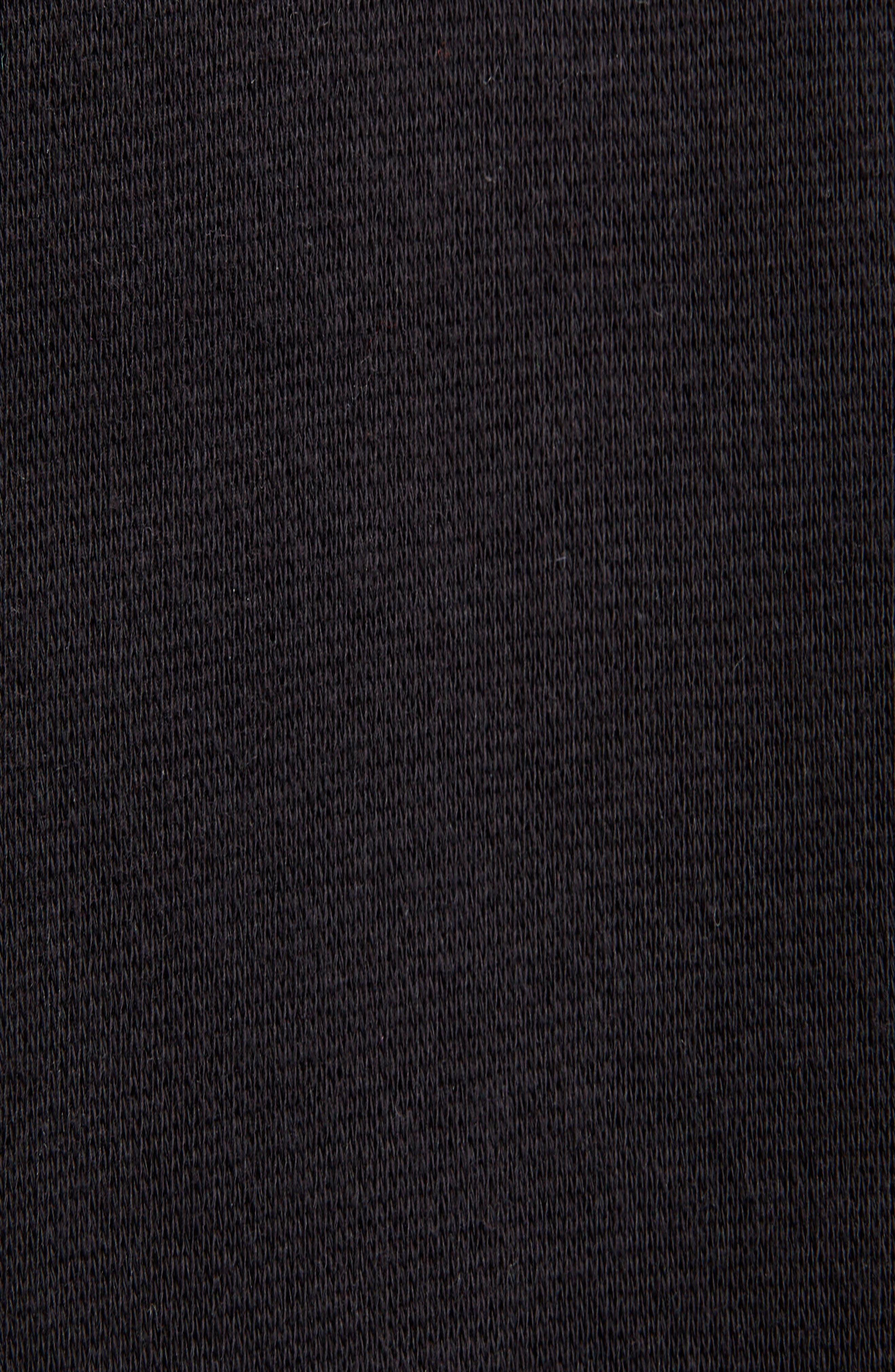 World Food Programme Oversize Brushed Felt Hoodie,                             Alternate thumbnail 5, color,                             1070-BLACK/ WHITE