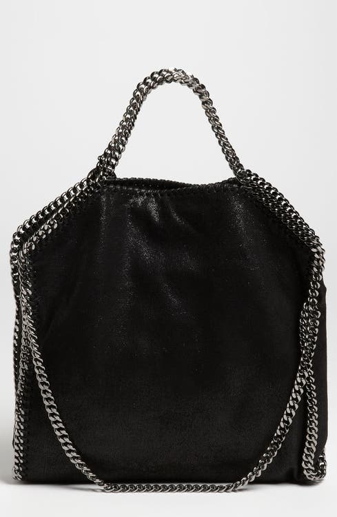 a288b1a0ff0e Stella McCartney  Falabella - Shaggy Deer  Faux Leather Foldover Tote