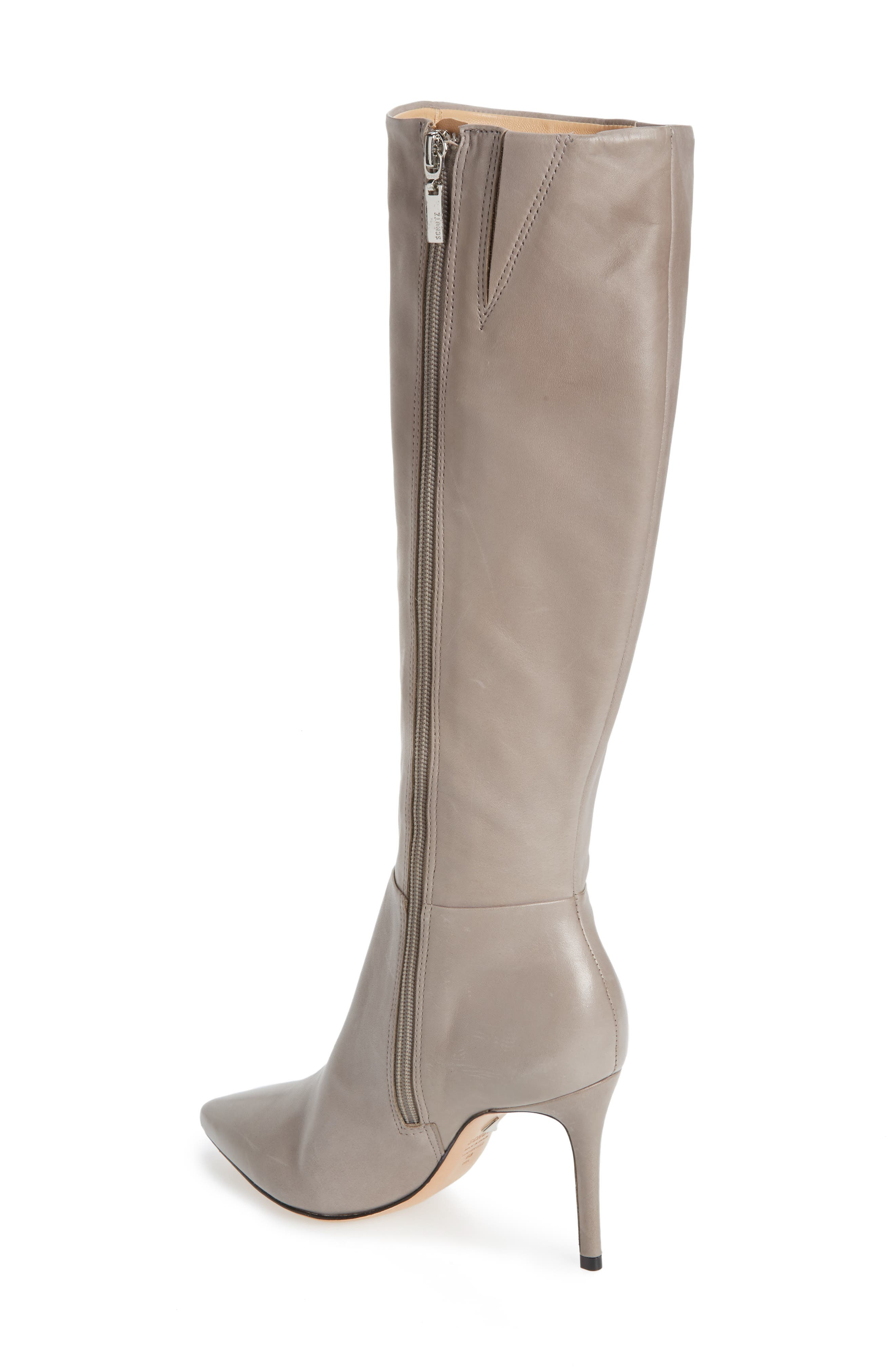 Magalli Knee High Boot,                             Alternate thumbnail 2, color,                             MOUSE LEATHER