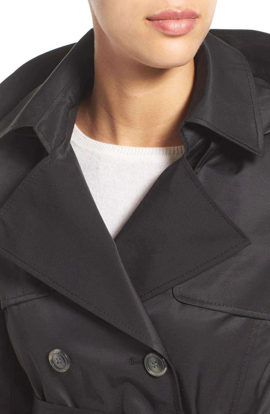 Detachable Hood Trench Coat,                             Alternate thumbnail 27, color,