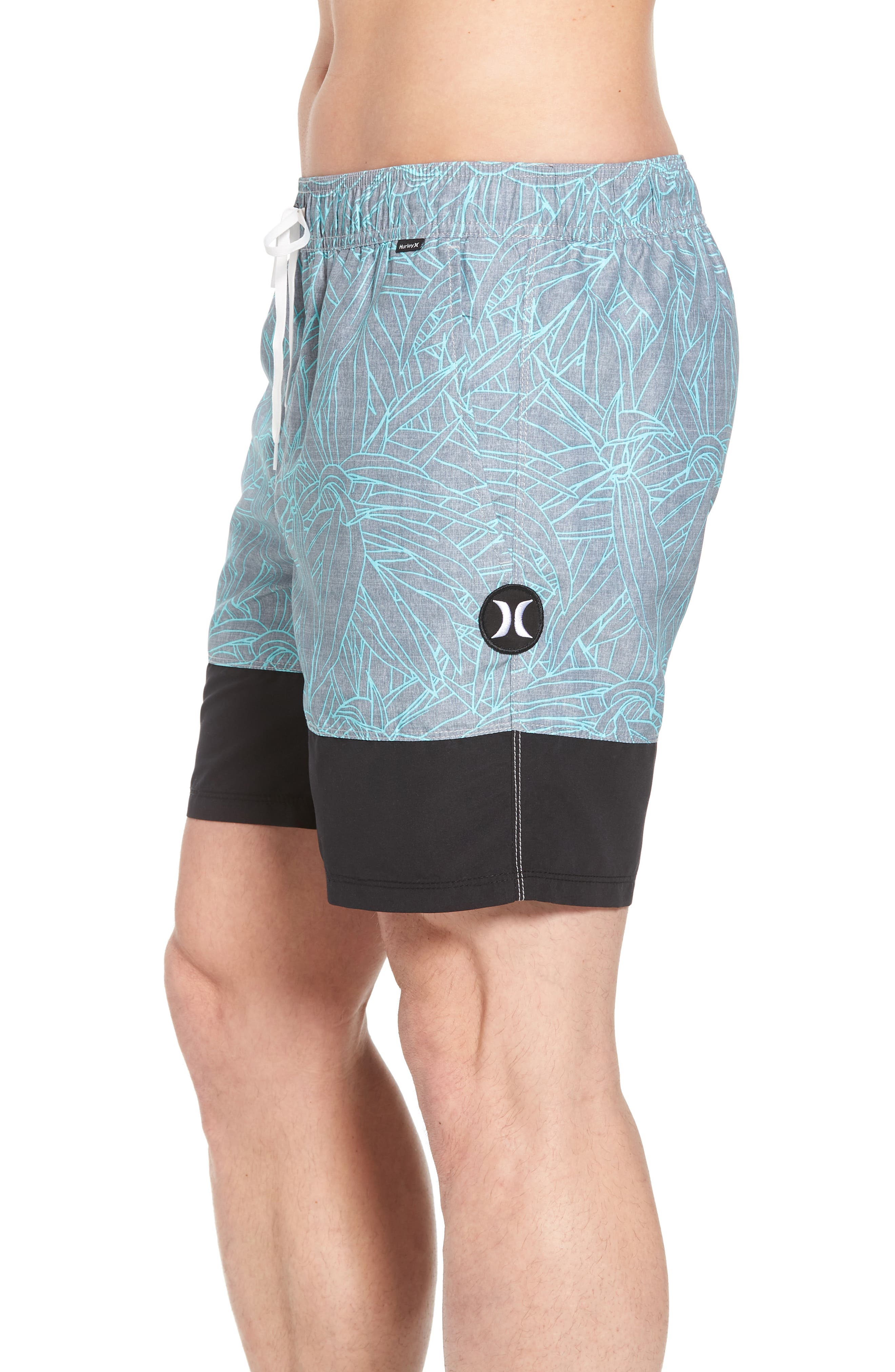 Pupkea Volley Board Shorts,                             Alternate thumbnail 3, color,                             065