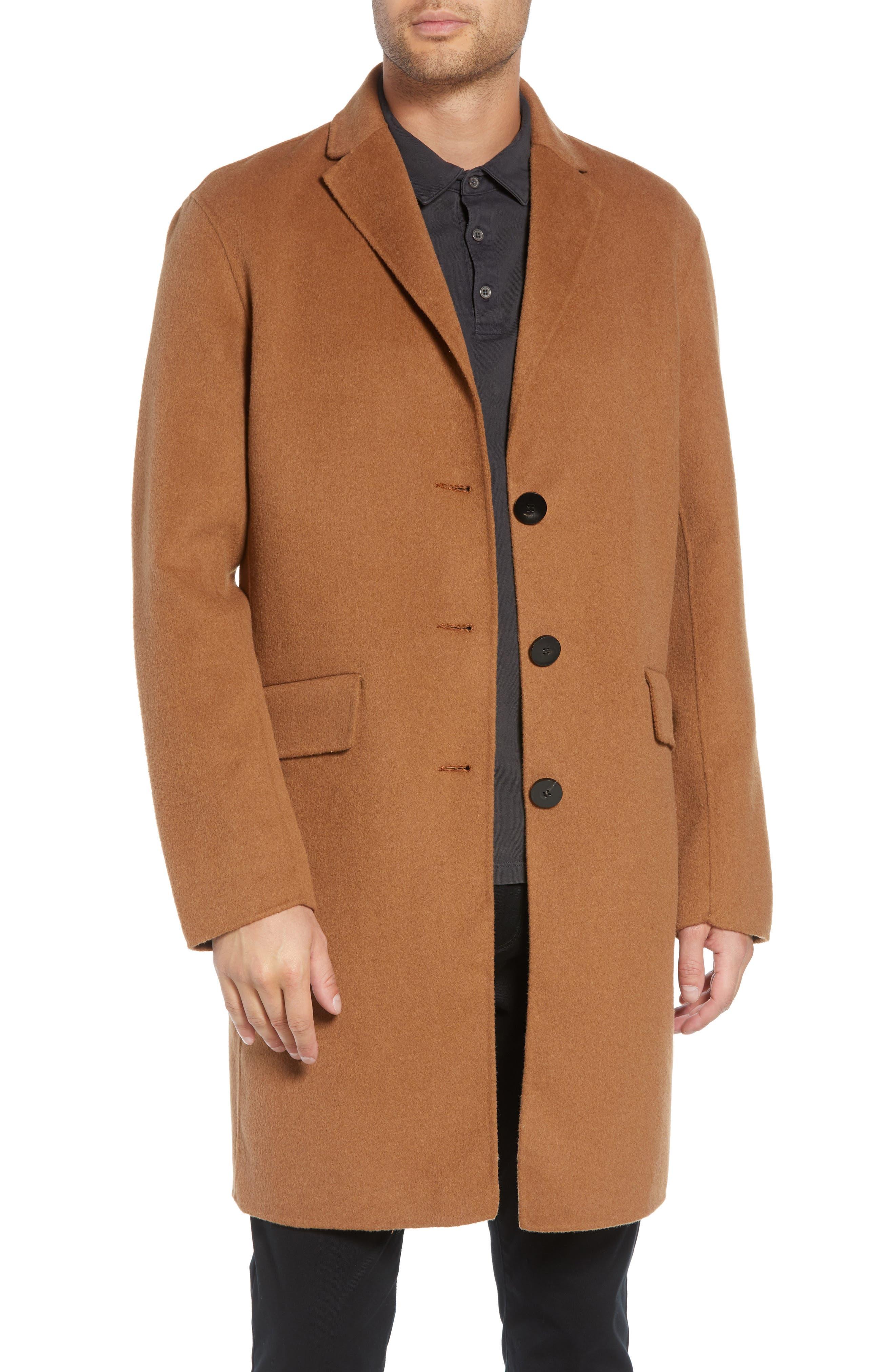 Wool Blend Topcoat,                             Main thumbnail 2, color,