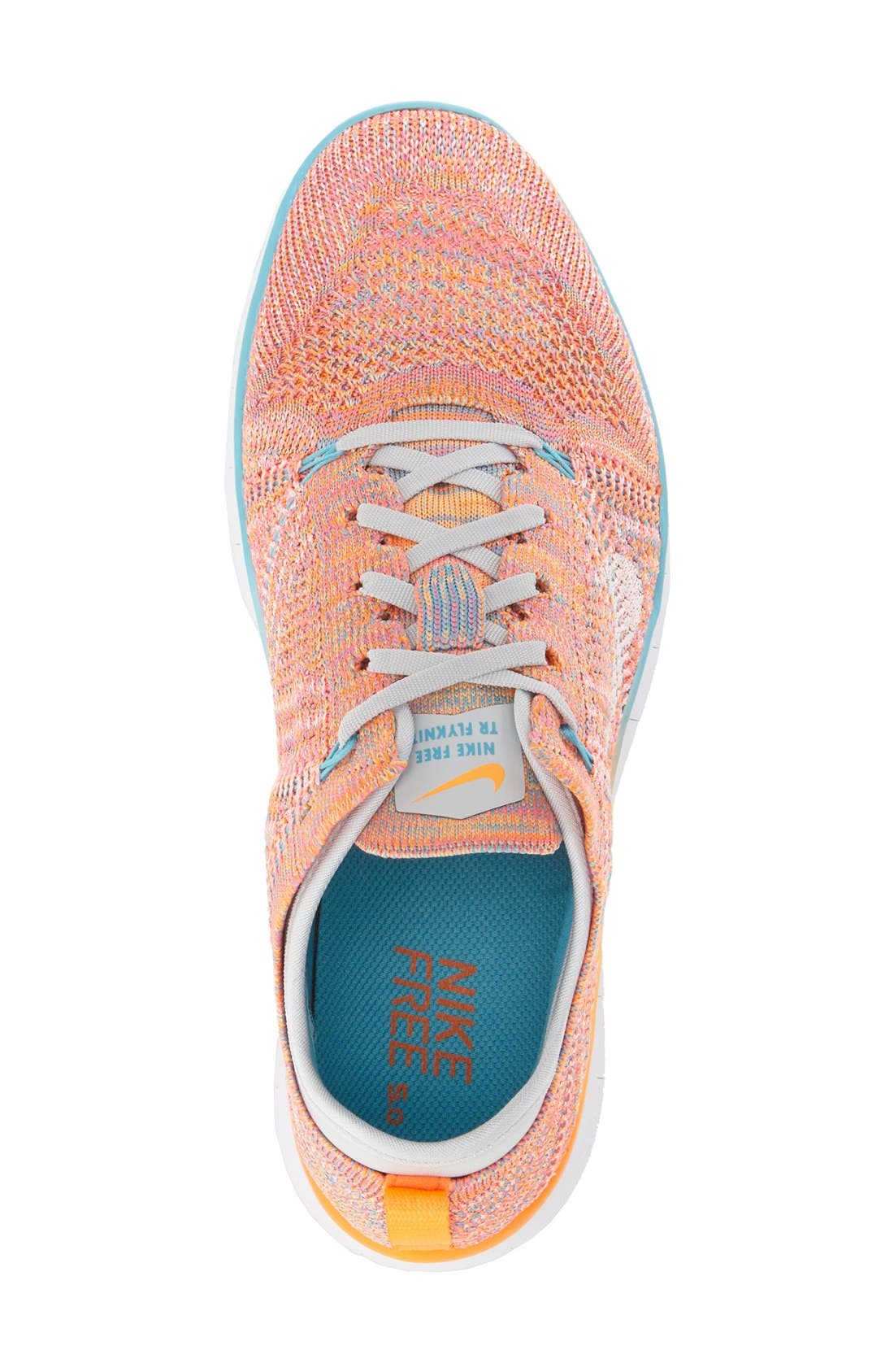 'Free Flyknit 5.0 TR' Training Shoe,                             Alternate thumbnail 34, color,
