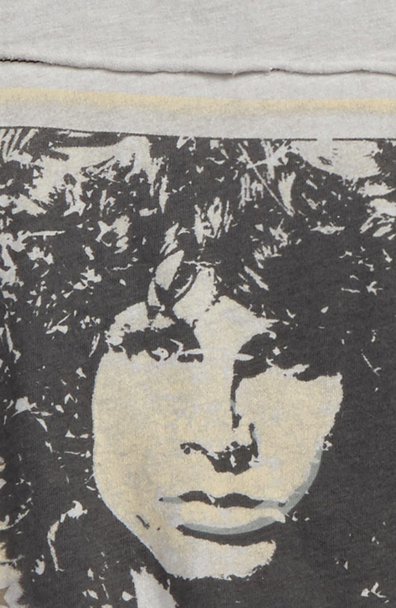 Jim Morrison Graphic T-Shirt,                             Alternate thumbnail 2, color,