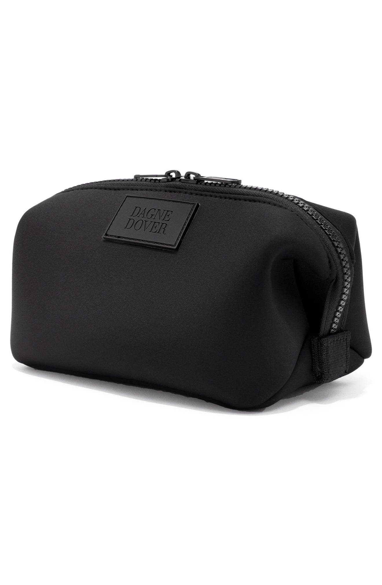 Small Hunter Neoprene Toiletry Bag,                             Alternate thumbnail 4, color,                             001