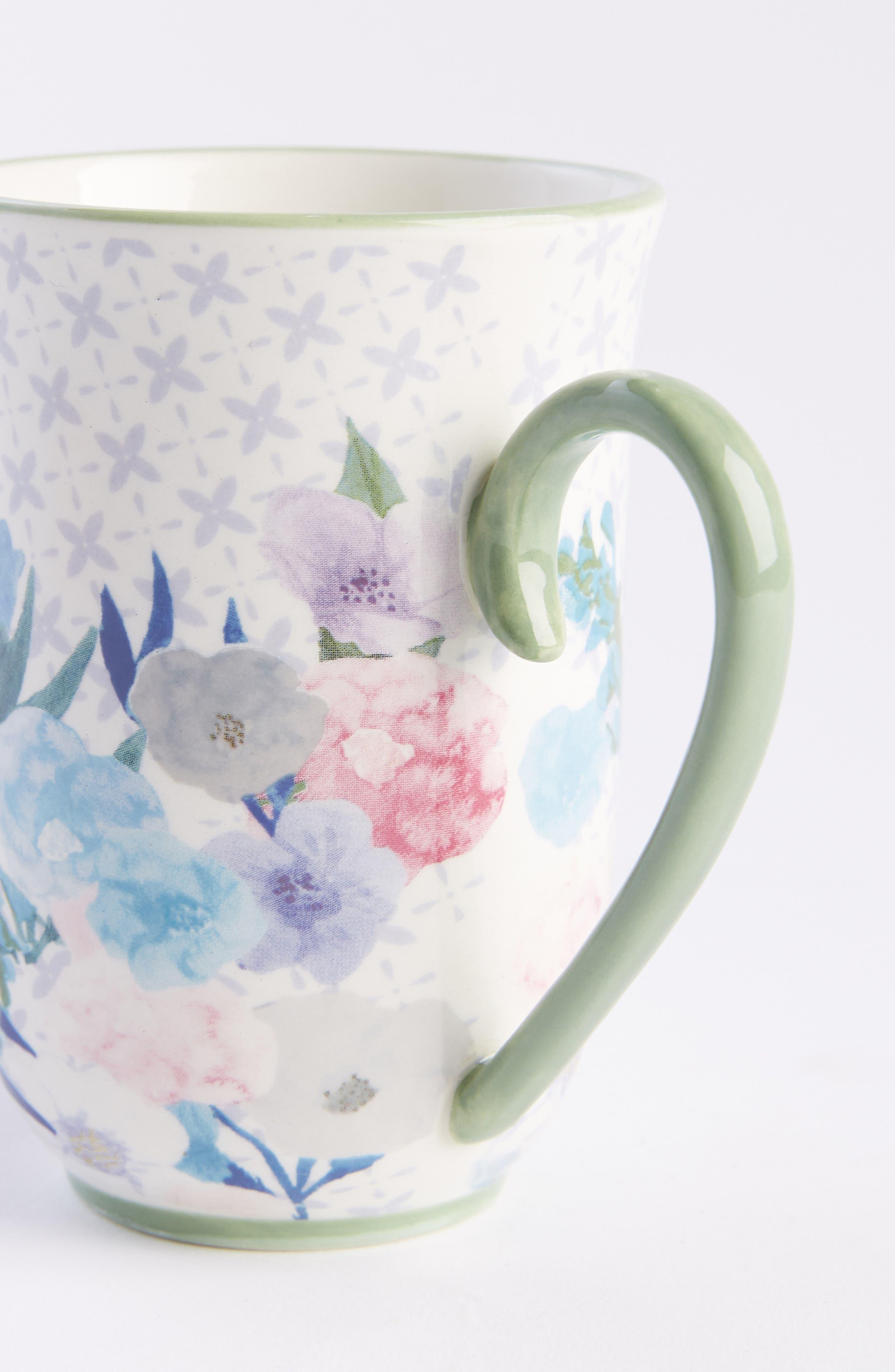 Jioletta Set of 4 Mugs,                             Alternate thumbnail 2, color,                             LIGHT GREEN