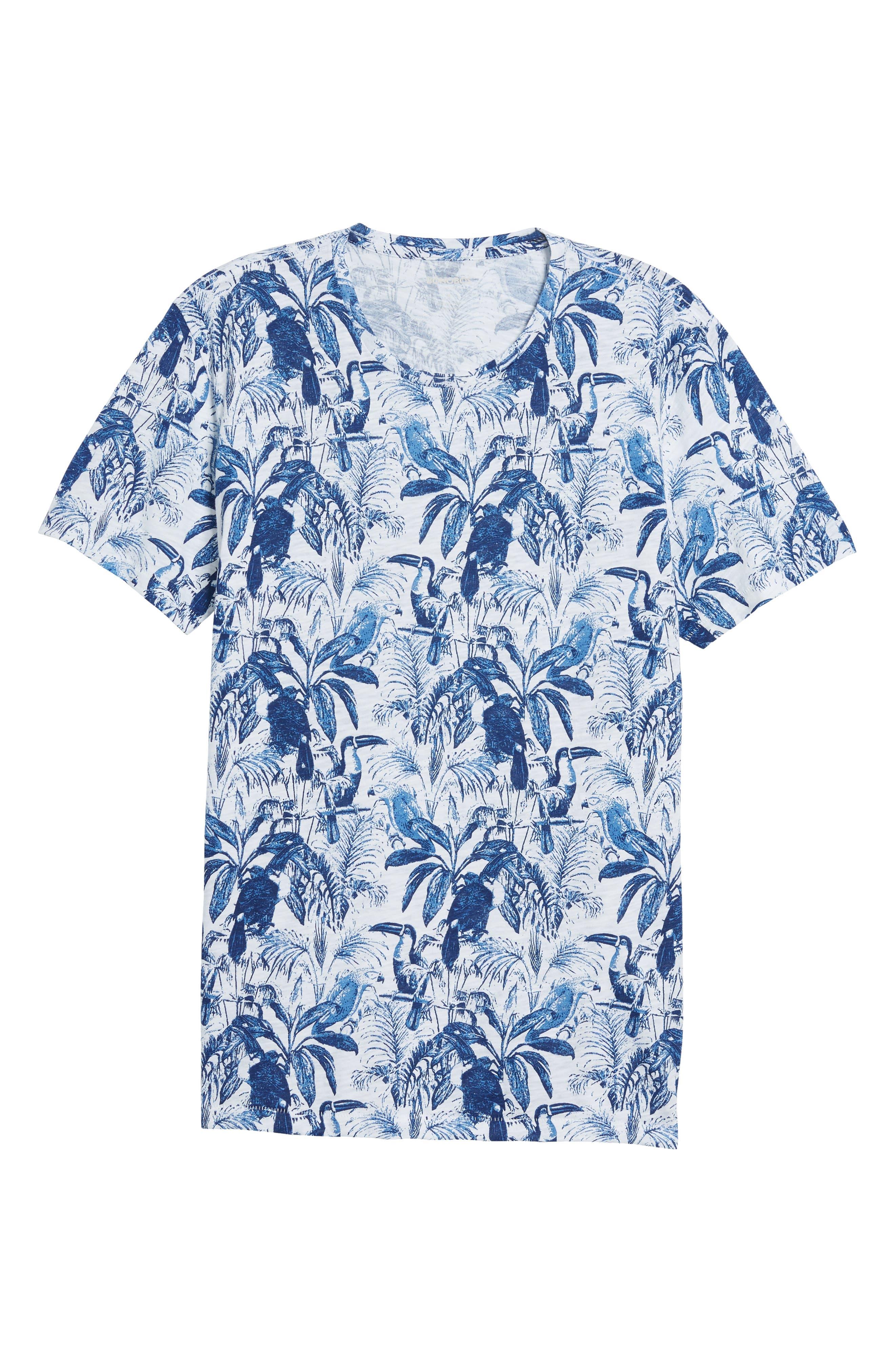 Print T-Shirt,                             Alternate thumbnail 6, color,
