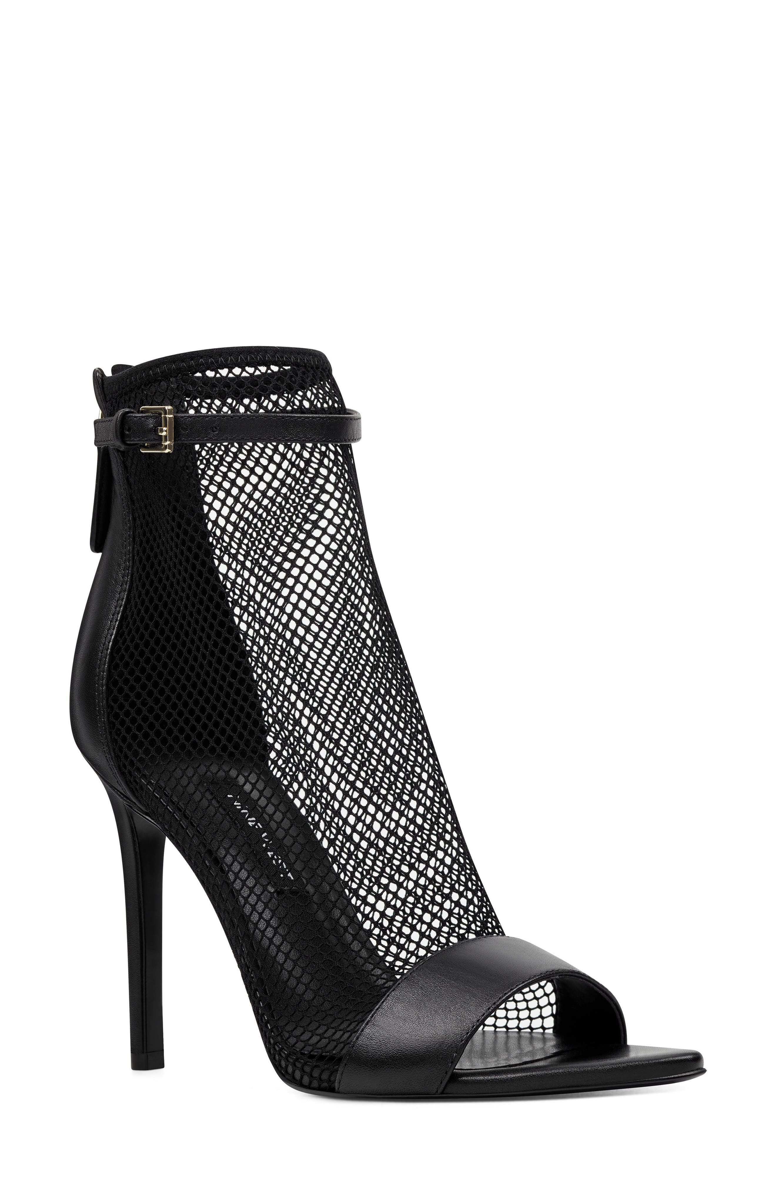 Nine West Gotbank Mesh Bootie, Black