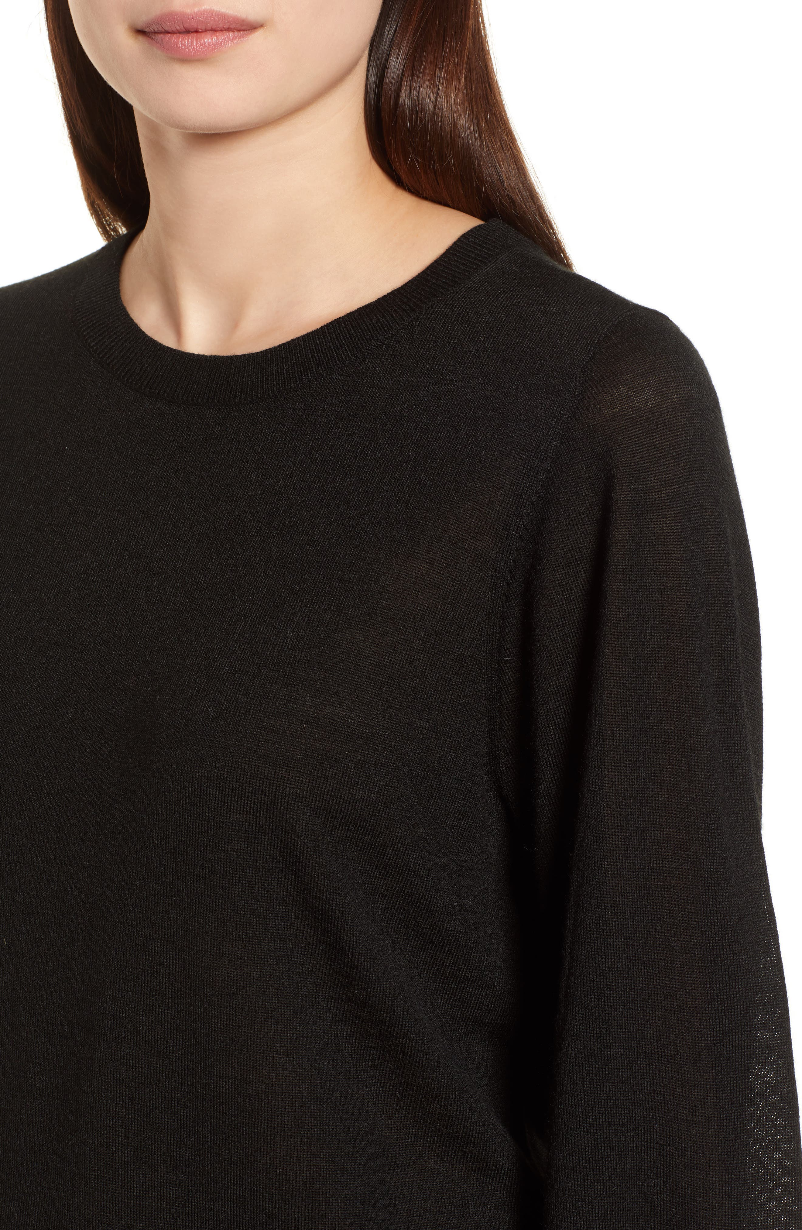 Puff Sleeve Sweater,                             Alternate thumbnail 32, color,