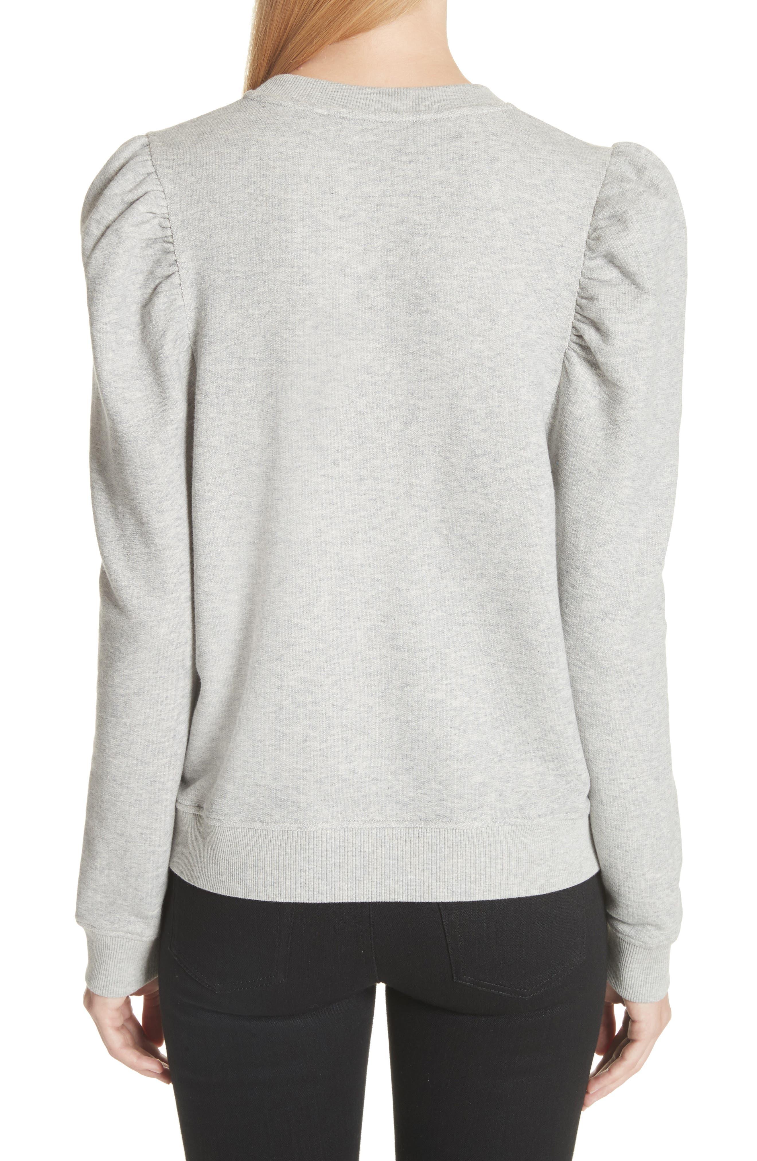 Puff Shoulder Sweater,                             Alternate thumbnail 2, color,                             030