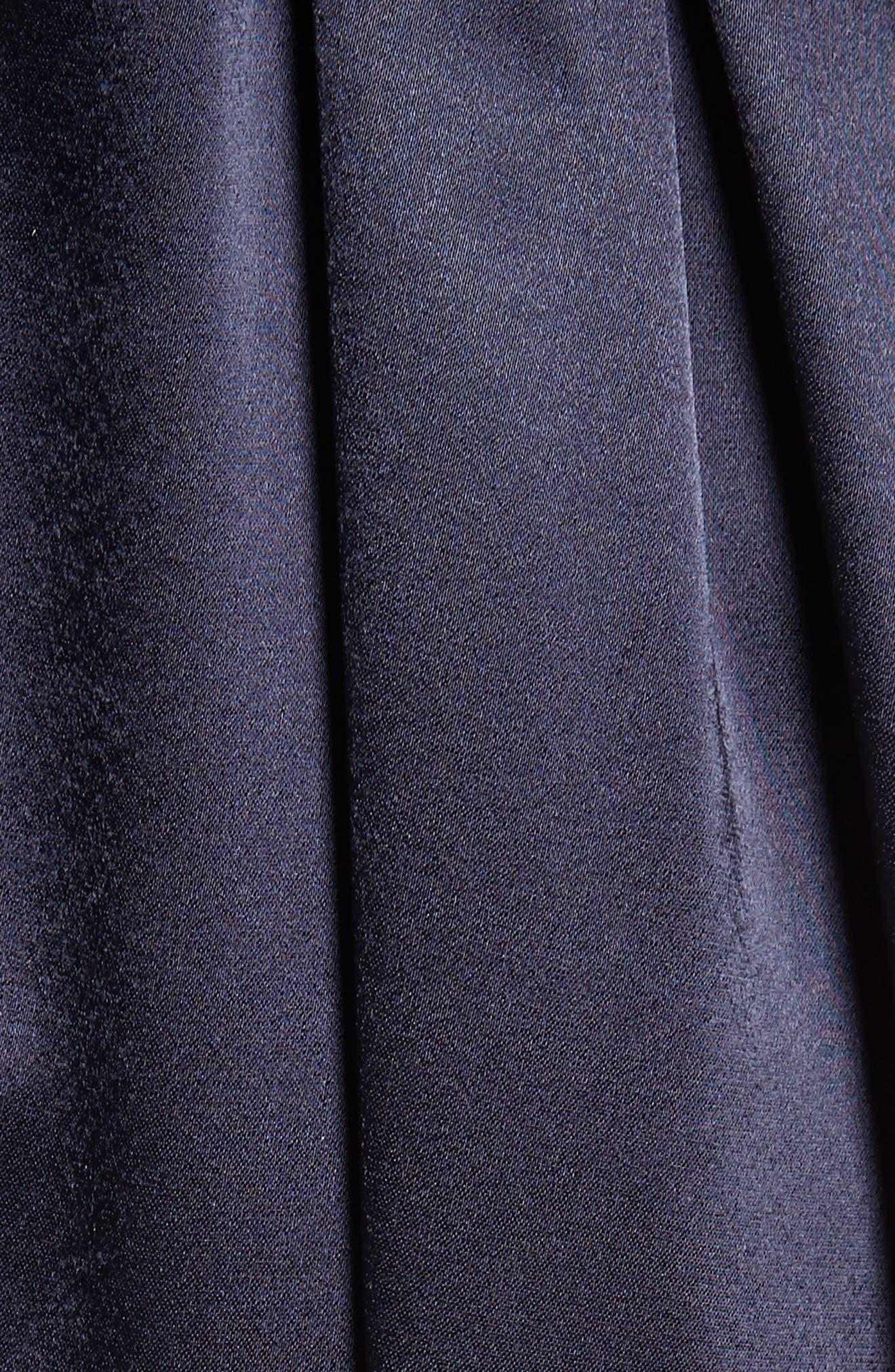 Liquid Satin Gown,                             Alternate thumbnail 6, color,