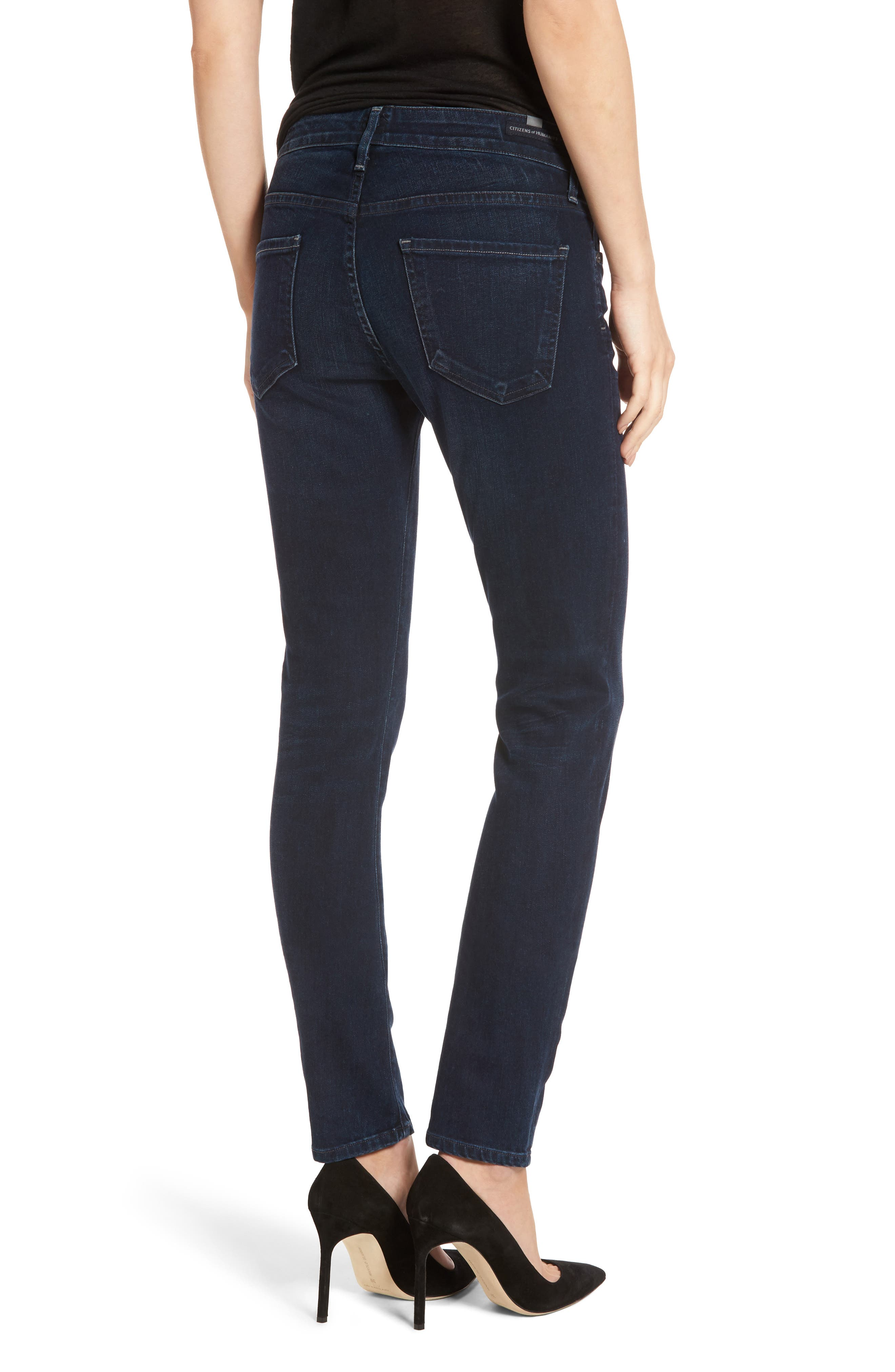 Arielle Skinny Jeans,                             Alternate thumbnail 2, color,                             406