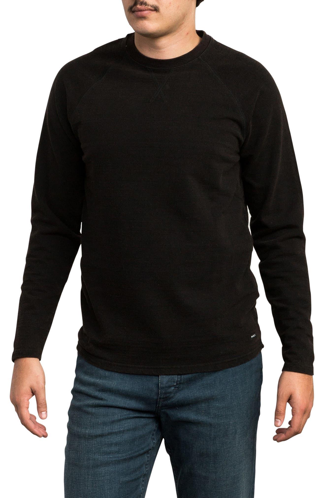Undertone Long Sleeve T-Shirt,                         Main,                         color, PIRATE BLACK