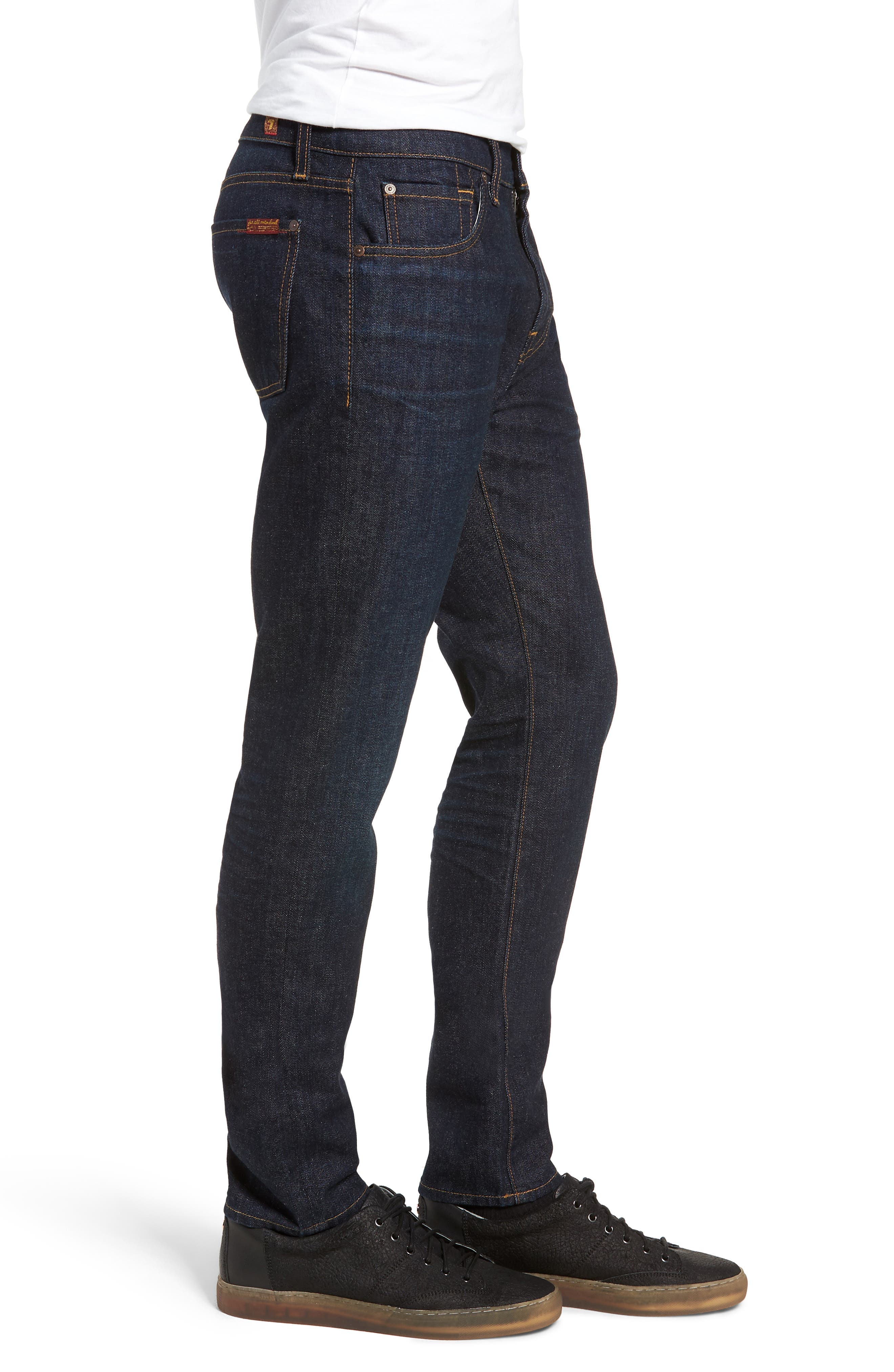 Ryley Skinny Fit Jeans,                             Alternate thumbnail 3, color,                             400