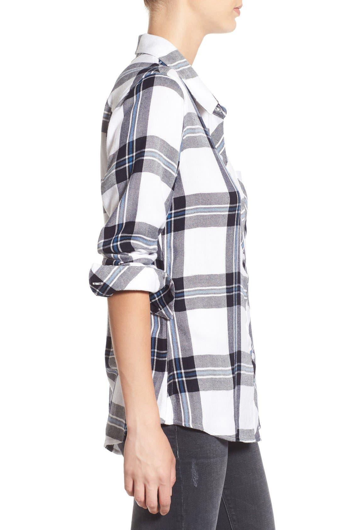 Hunter Plaid Shirt,                             Alternate thumbnail 514, color,