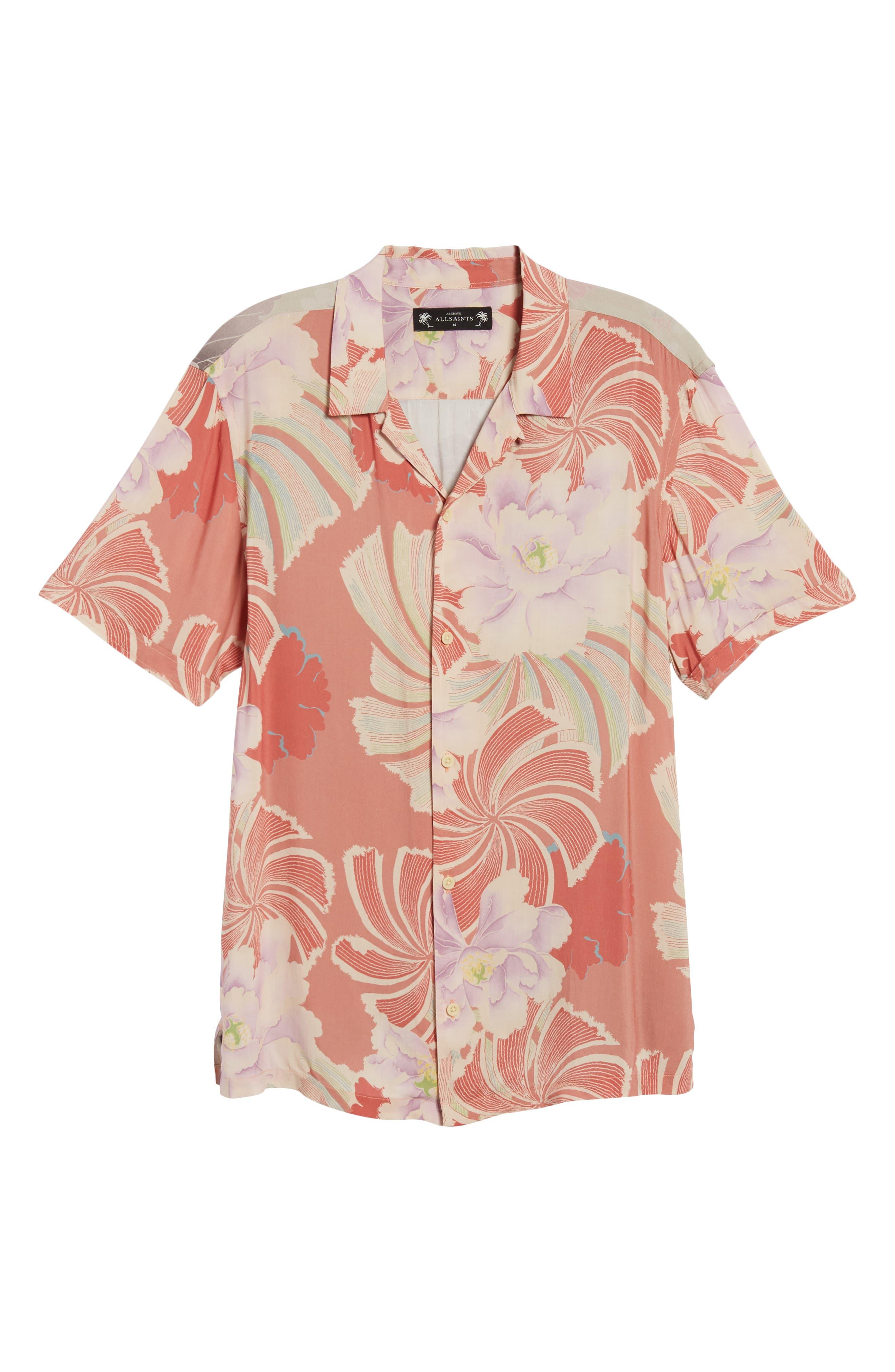 Helix Regular Fit Short Sleeve Sport Shirt,                             Alternate thumbnail 6, color,