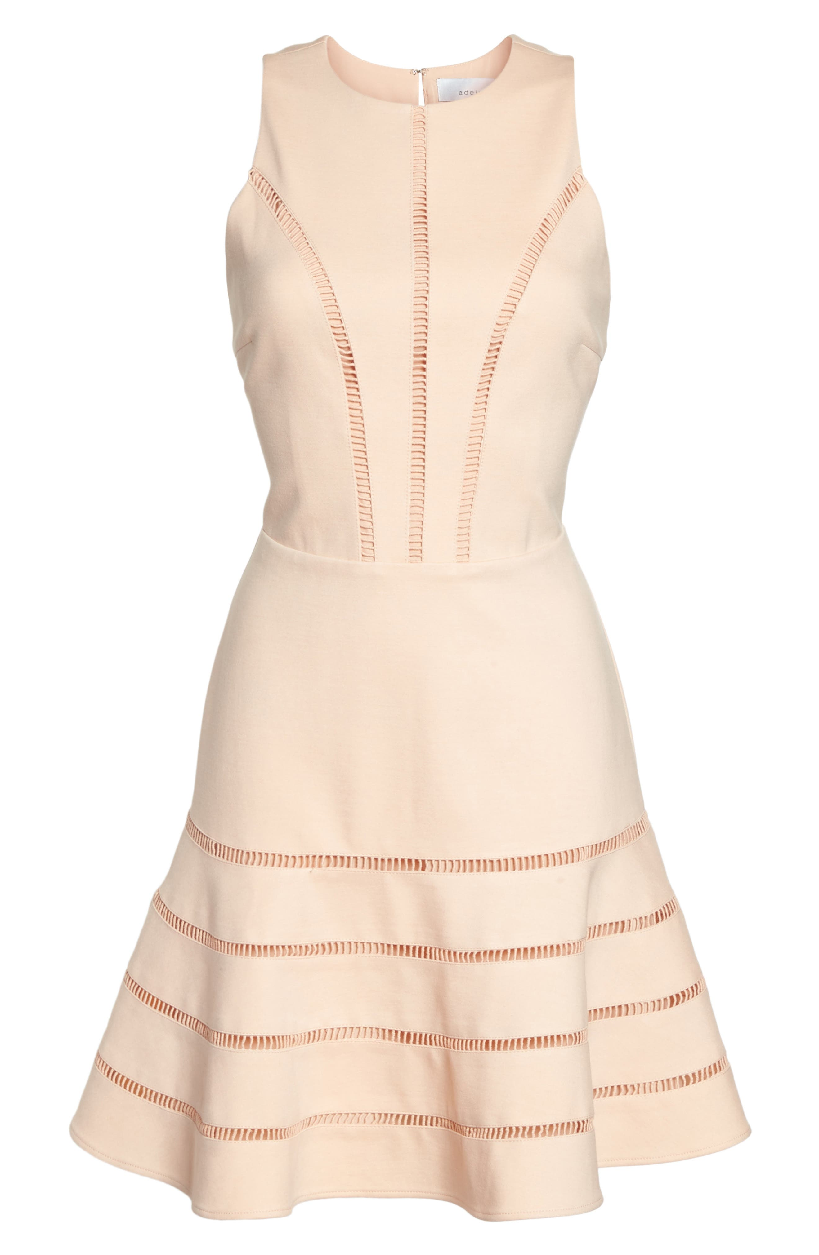Peggy Fit & Flare Dress,                             Alternate thumbnail 6, color,                             680