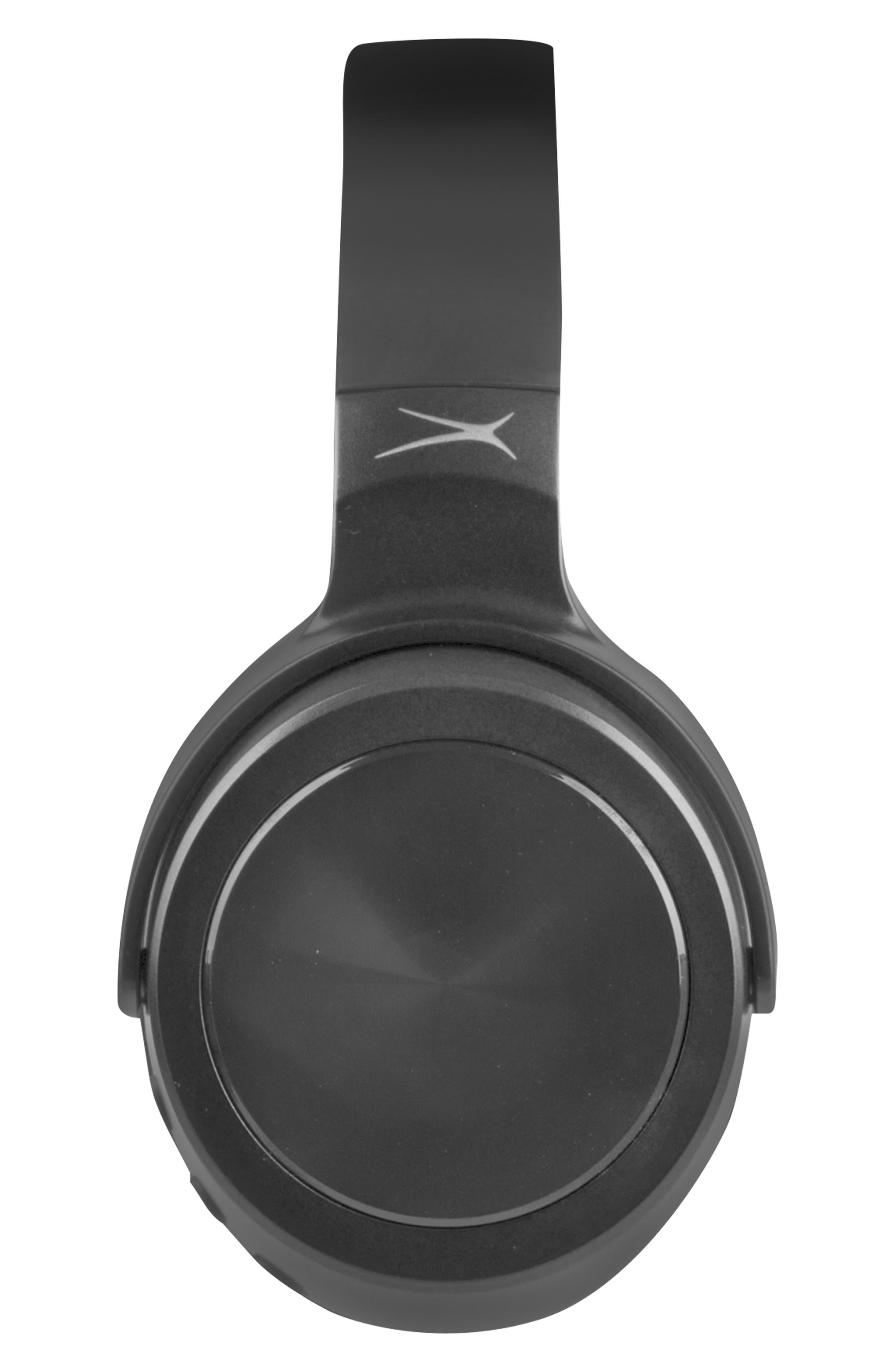 Rumble Bluetooth<sup>®</sup> Over-Ear Headphones,                             Alternate thumbnail 2, color,                             BLACK