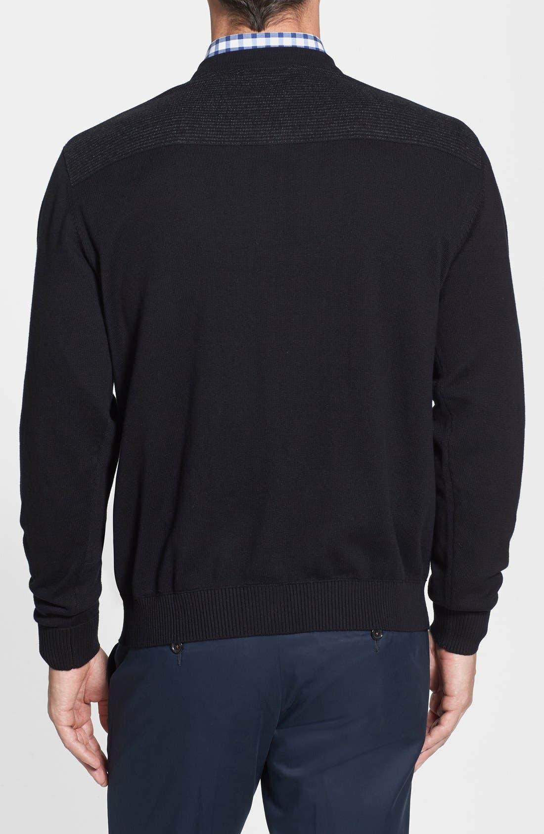 Broadview V-Neck Sweater,                             Alternate thumbnail 2, color,                             001