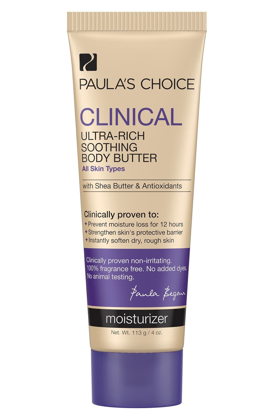 Clinical Ultra-Rich Soothing Body Butter,                             Main thumbnail 1, color,                             000