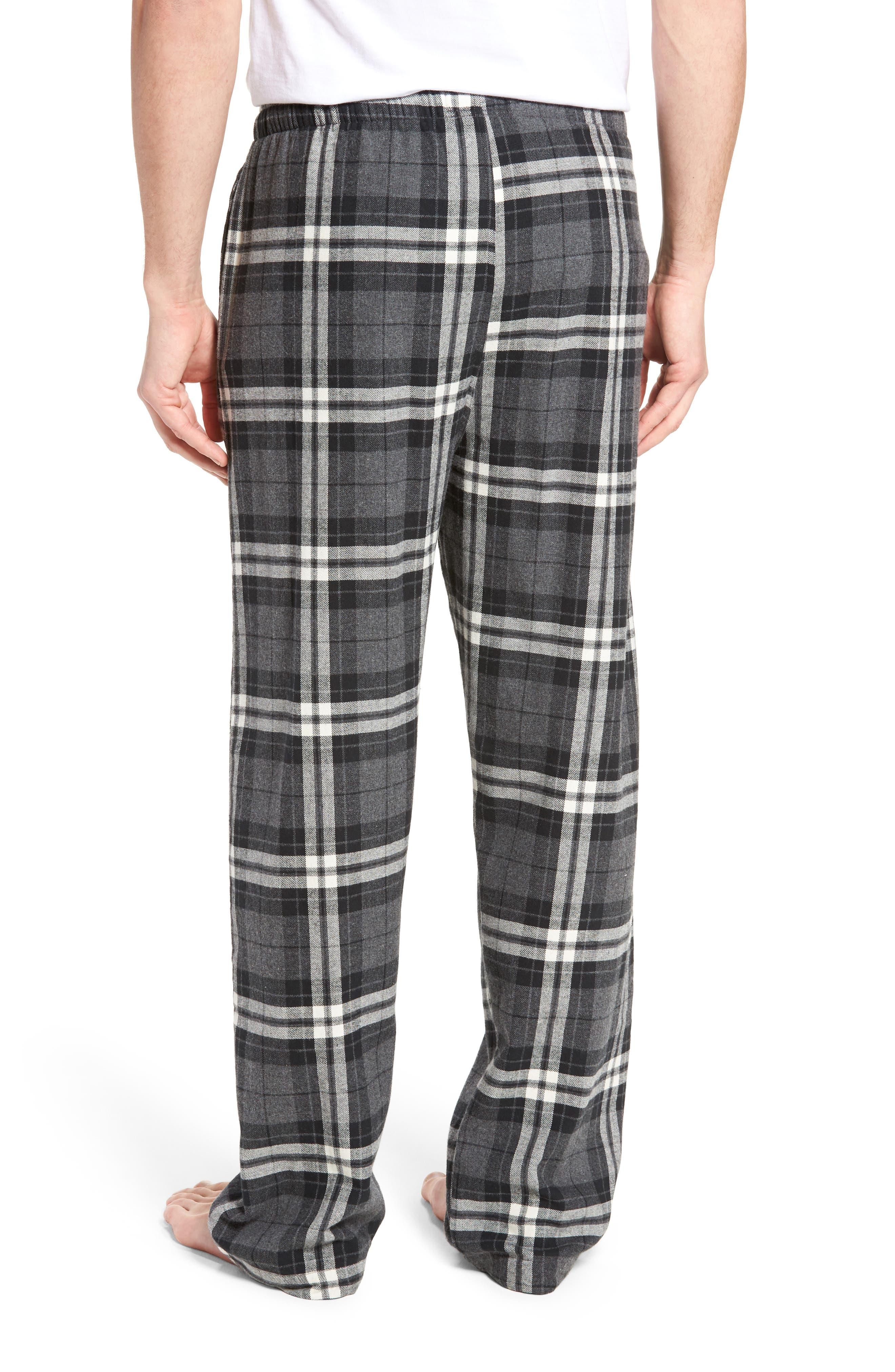 Flannel Pajama Pants,                             Alternate thumbnail 17, color,