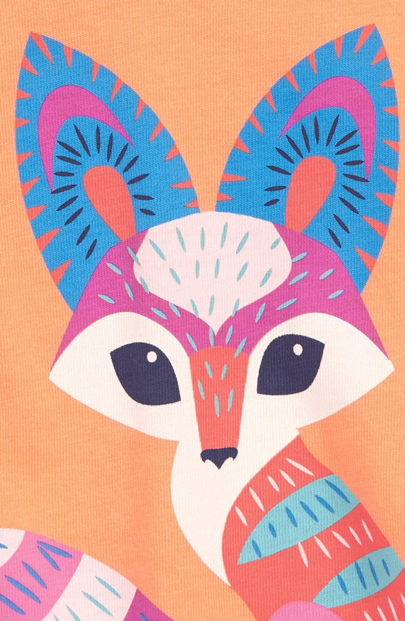 Desert Fox Graphic Tee,                             Alternate thumbnail 2, color,                             801